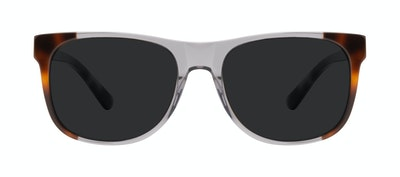 Affordable Fashion Glasses Square Sunglasses Men Make Smokey Tort Front