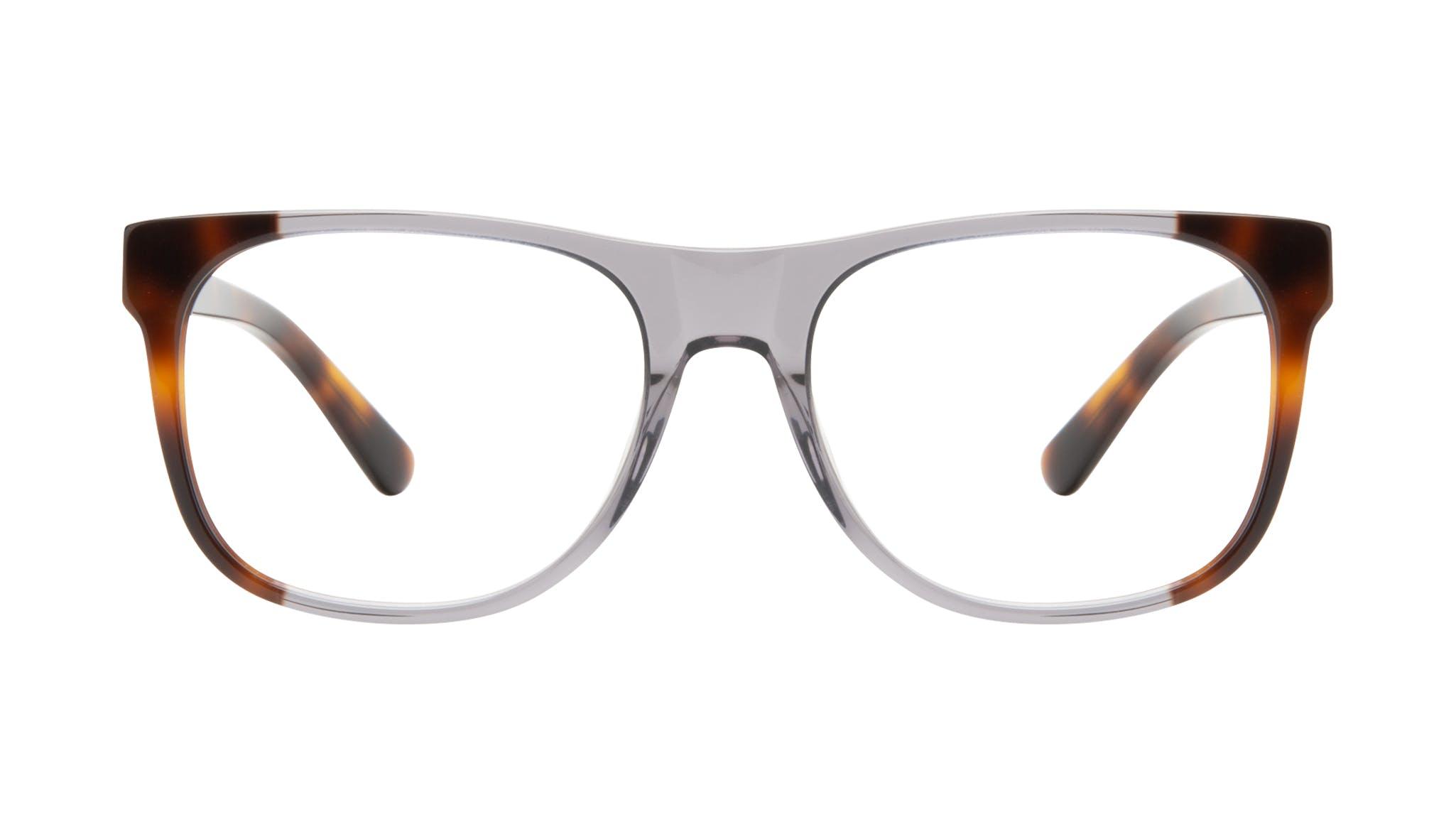 Affordable Fashion Glasses Square Eyeglasses Men Make Smokey Tort Front