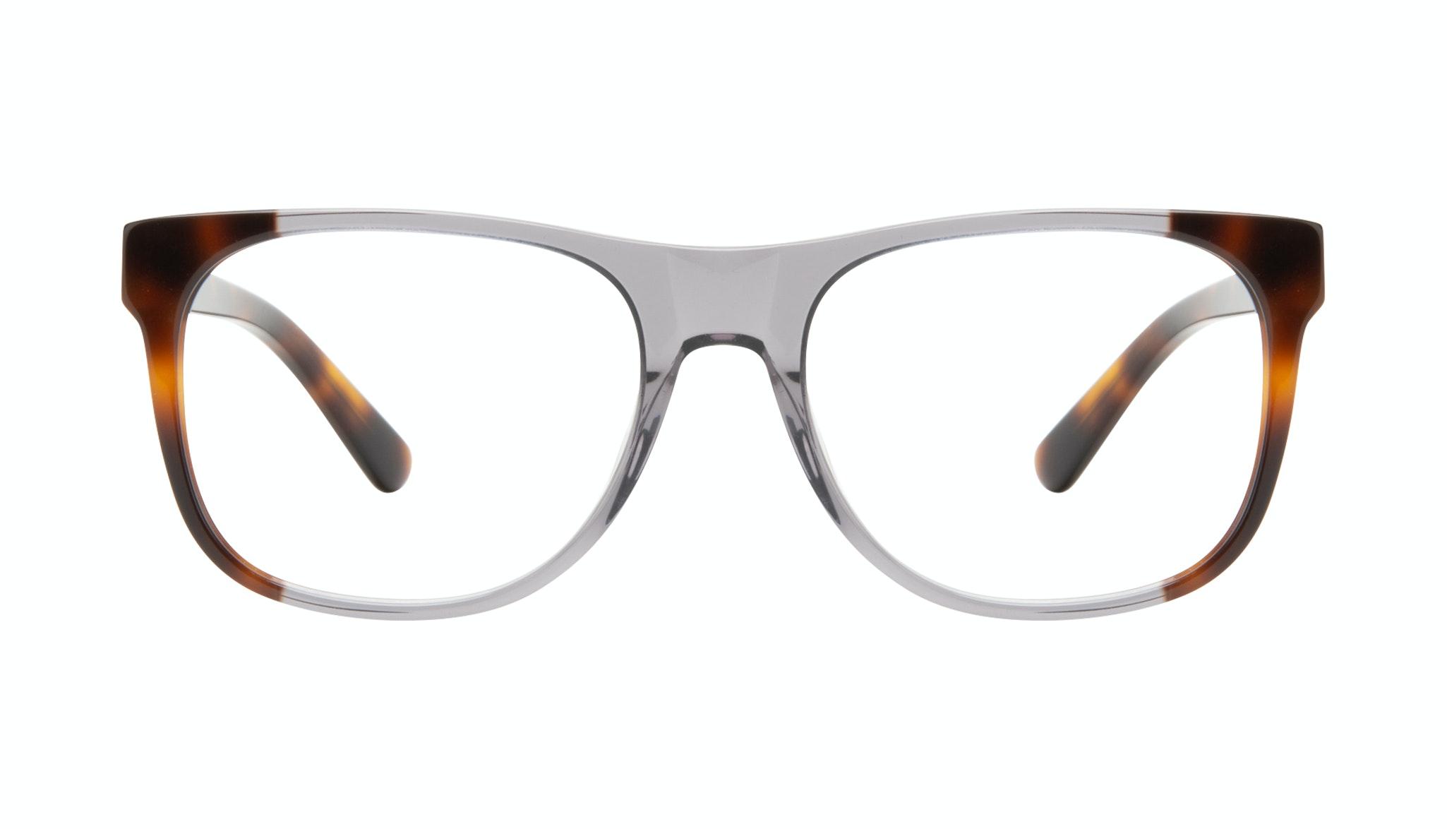 Lunettes tendance Carrée Lunettes de vue Hommes Make Smokey Tort Face