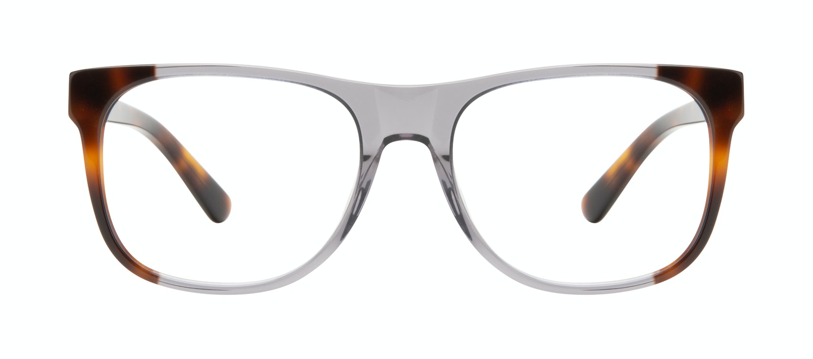 Affordable Fashion Glasses Square Eyeglasses Men Make Smokey Tort Front