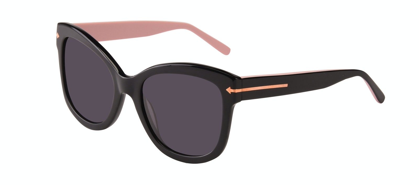 Affordable Fashion Glasses Cat Eye Square Sunglasses Women Marlo Carbon Tilt
