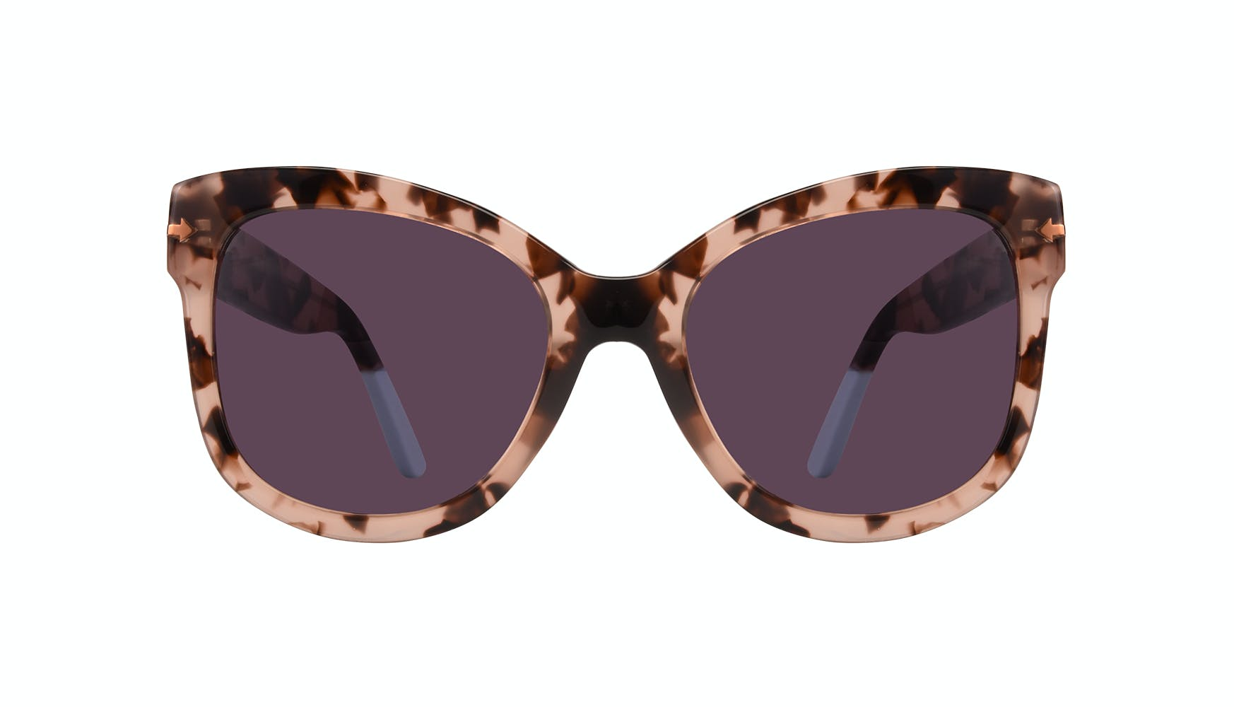 Affordable Fashion Glasses Cat Eye Square Sunglasses Women Marlo Coastal Front