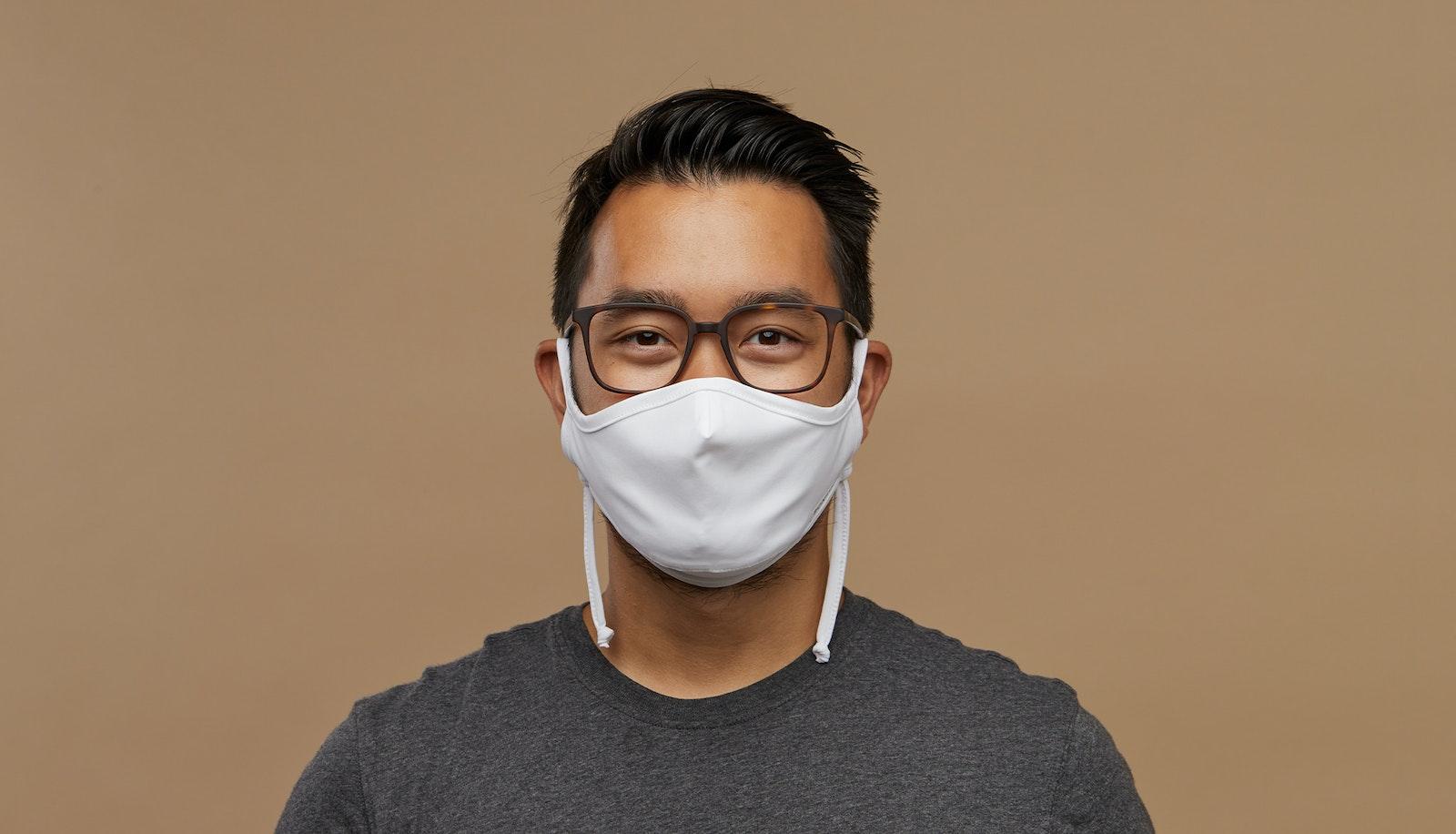 Lunettes tendance Accessoire Hommes Femmes BonLook Mask White