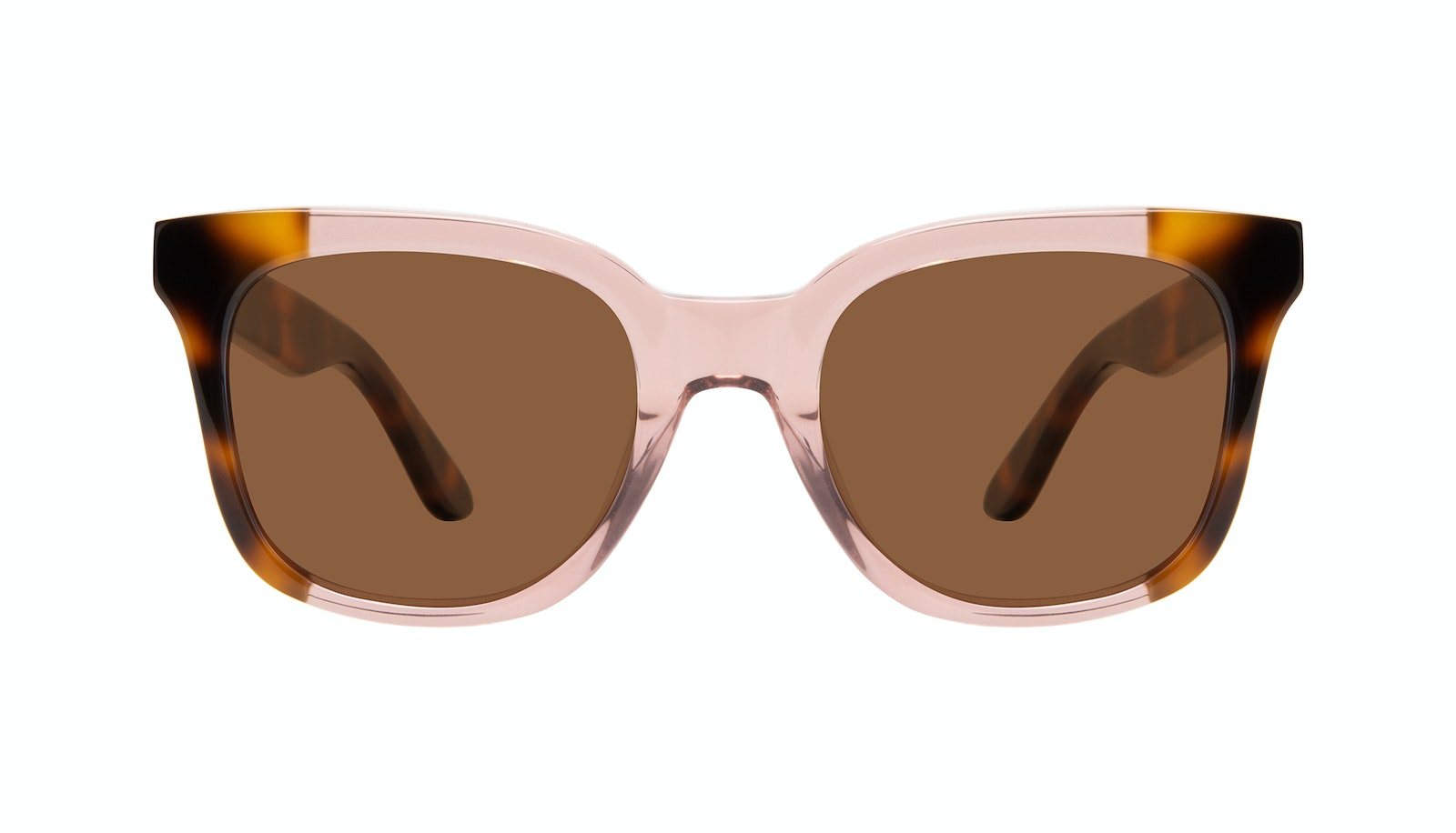 Affordable Fashion Glasses Square Sunglasses Women Mighty Rose Tort