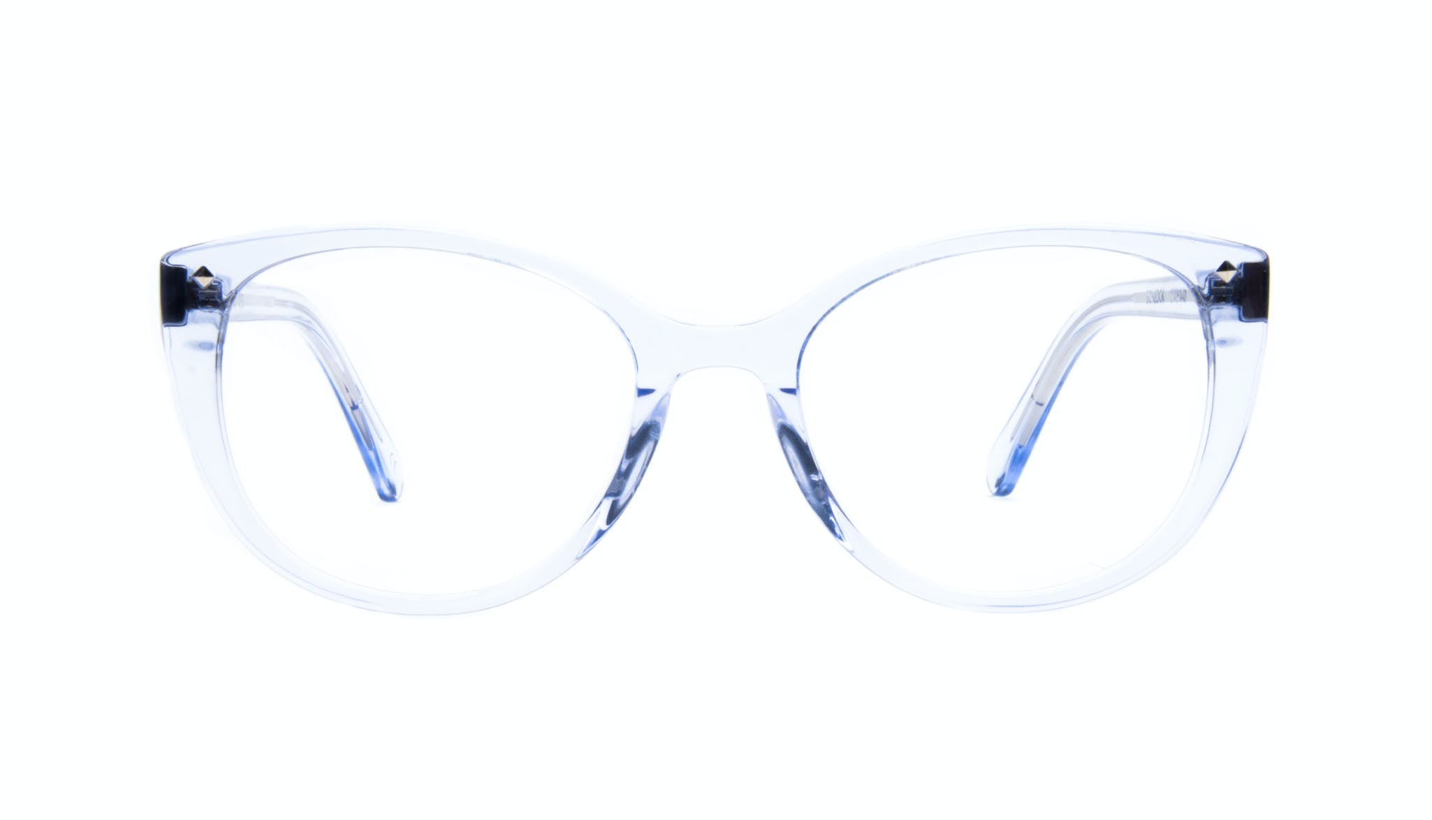 Affordable Fashion Glasses Cat Eye Eyeglasses Women Mist Sky Front