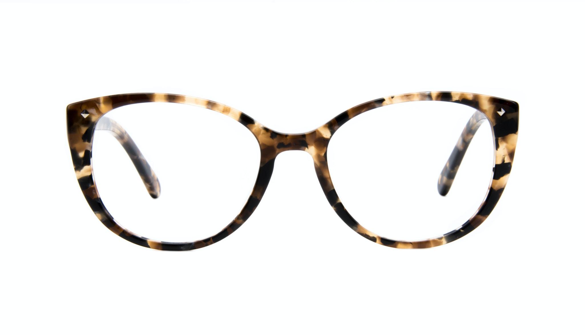 Lunettes tendance Oeil de chat Lunettes de vue Femmes Mist Tortoise Face
