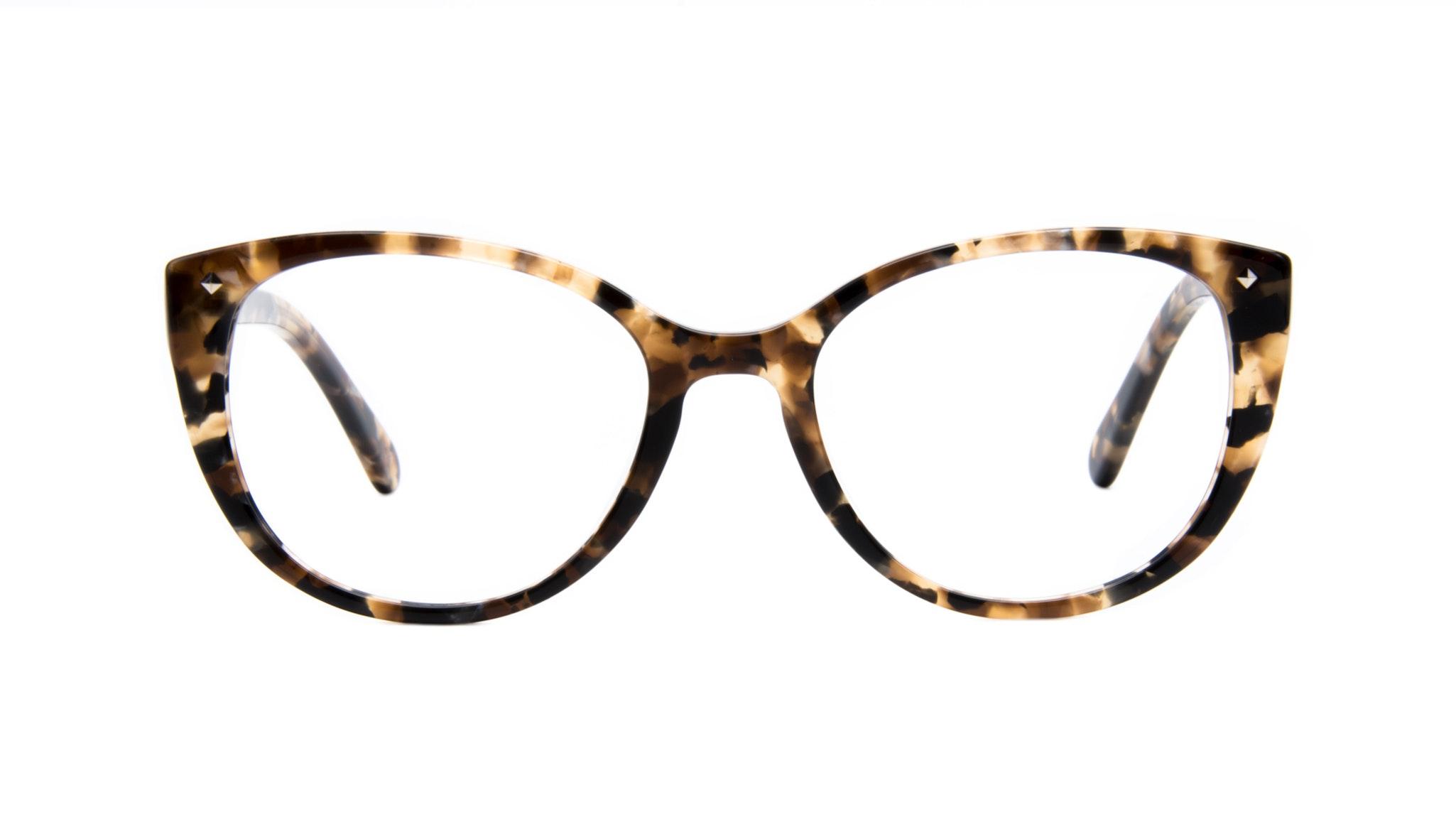Affordable Fashion Glasses Cat Eye Eyeglasses Women Mist Tortoise Front