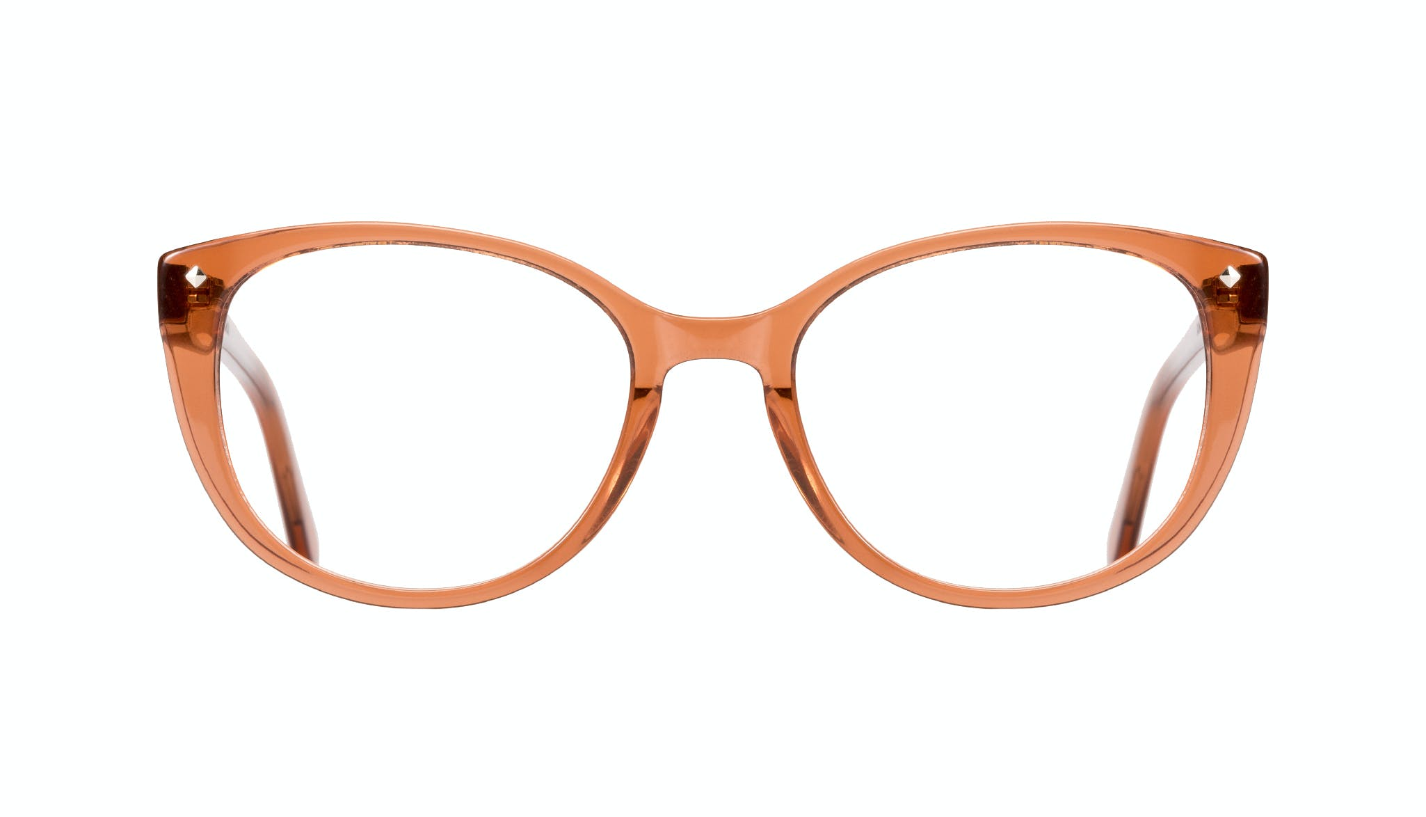 Affordable Fashion Glasses Cat Eye Eyeglasses Women Mist umber Front