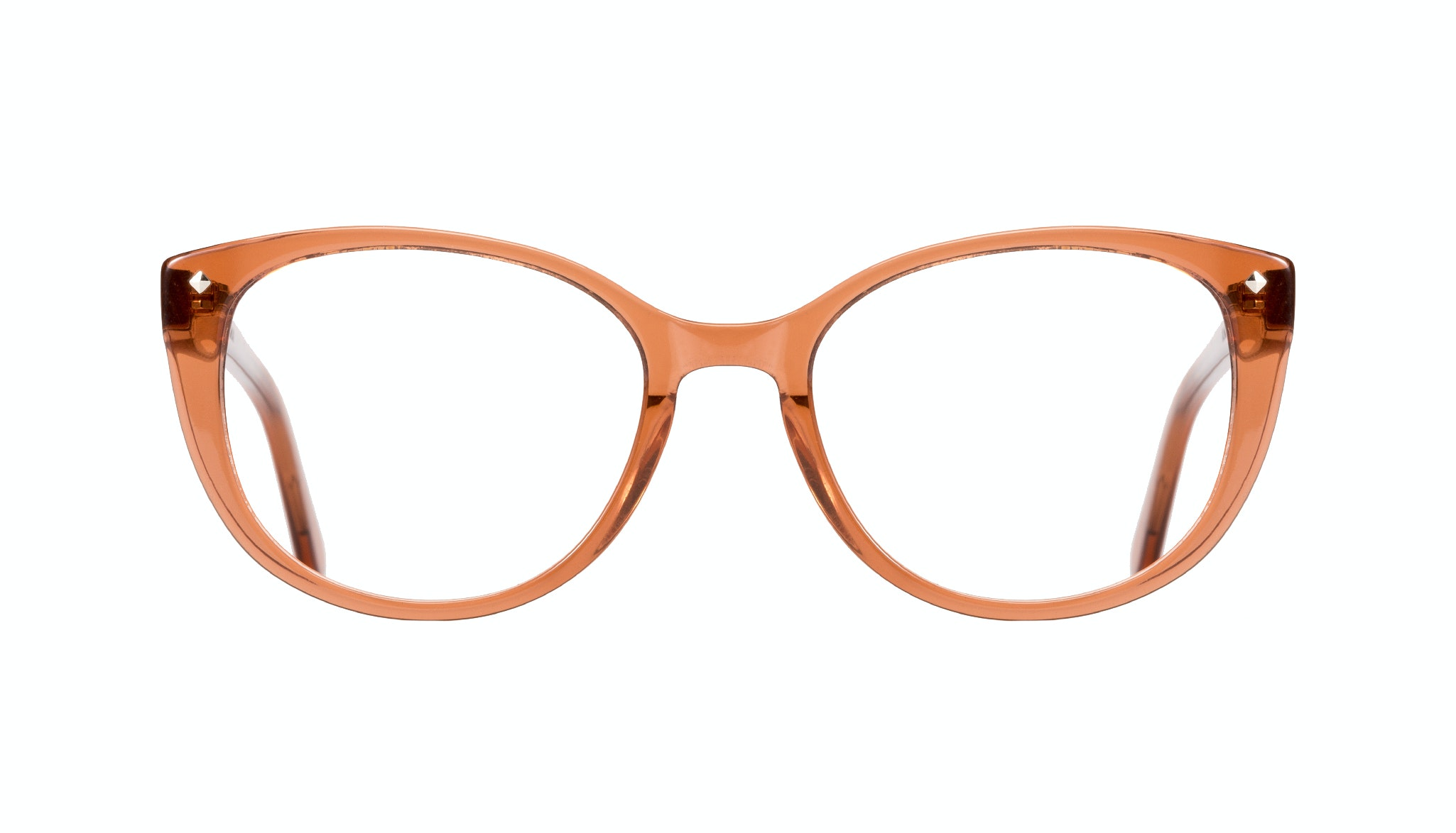 Affordable Fashion Glasses Cat Eye Eyeglasses Women Mist umber