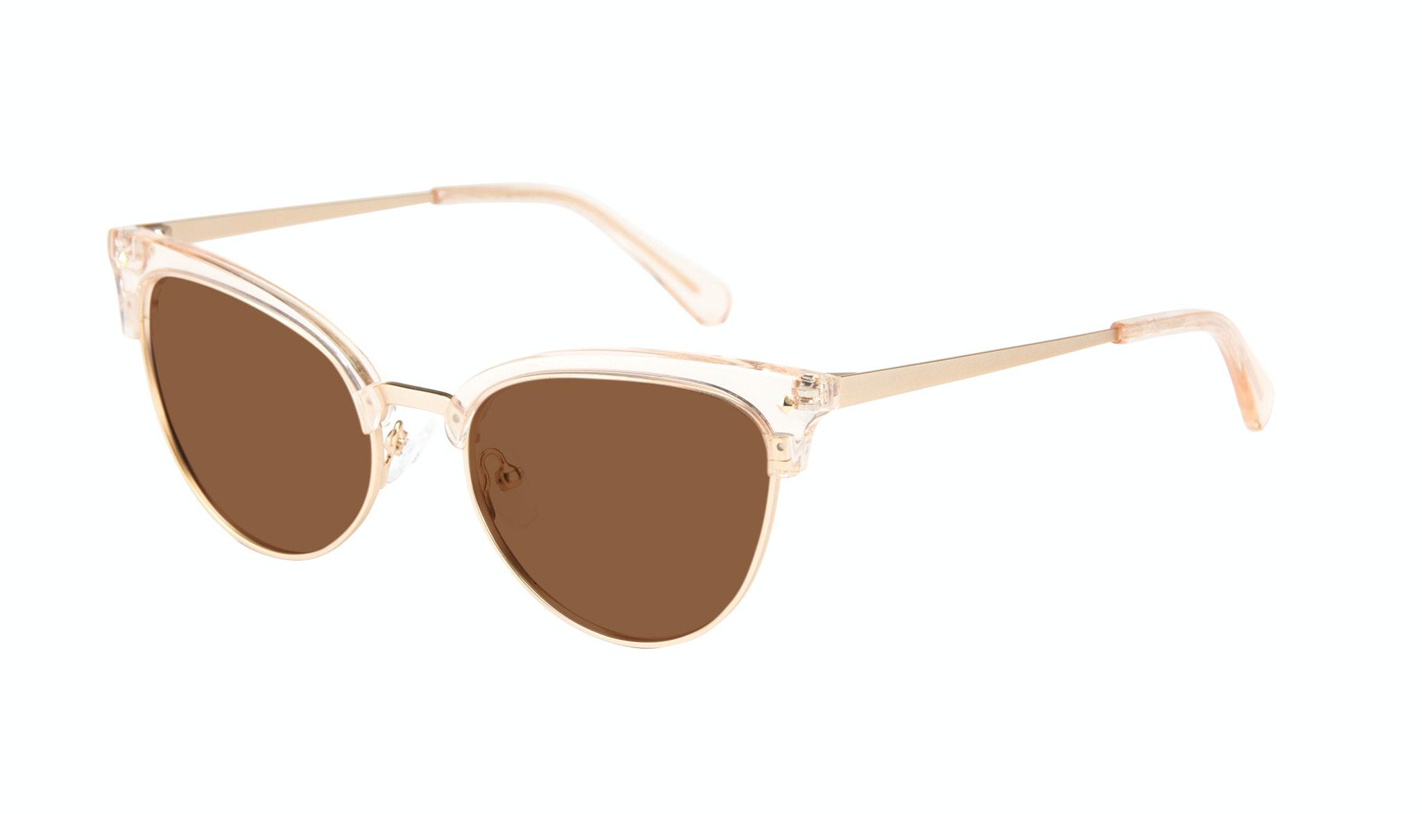 Affordable Fashion Glasses Cat Eye Daring Cateye Sunglasses Women Moon Blond Tilt