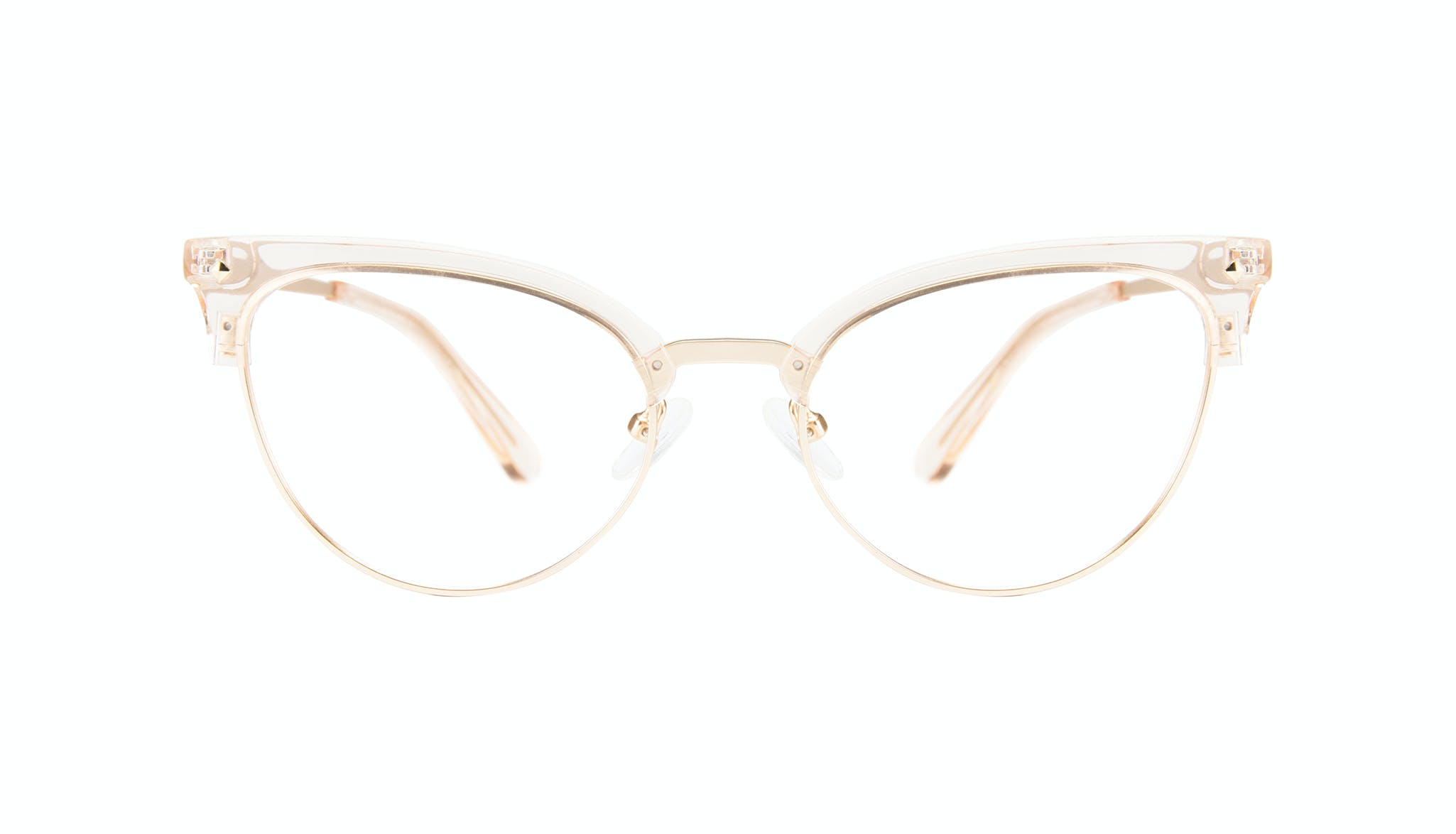 Affordable Fashion Glasses Cat Eye Daring Cateye Eyeglasses Women Moon Blond Front