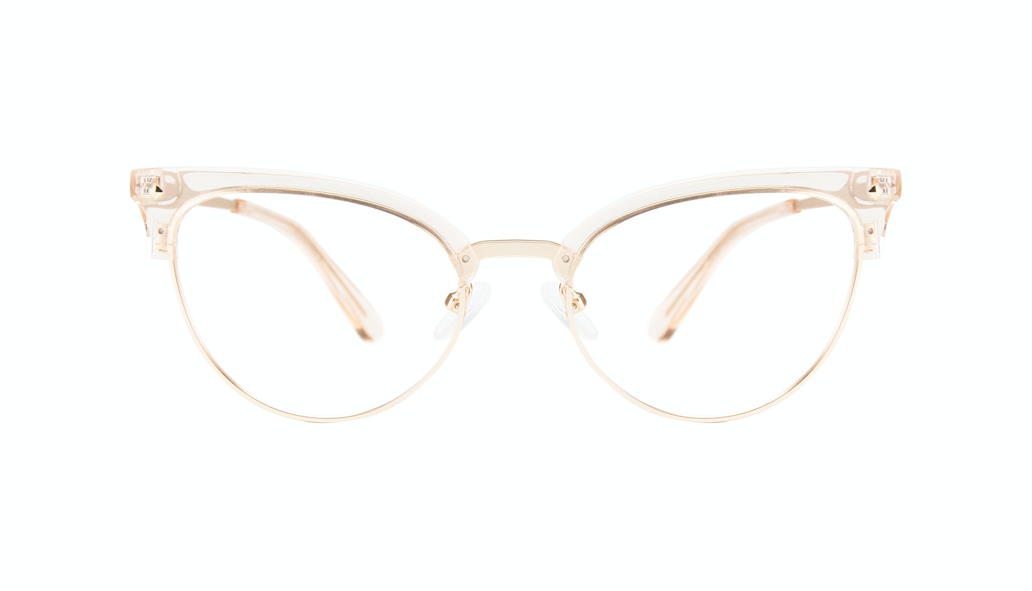 Affordable Fashion Glasses Cat Eye Eyeglasses Women Moon Blond