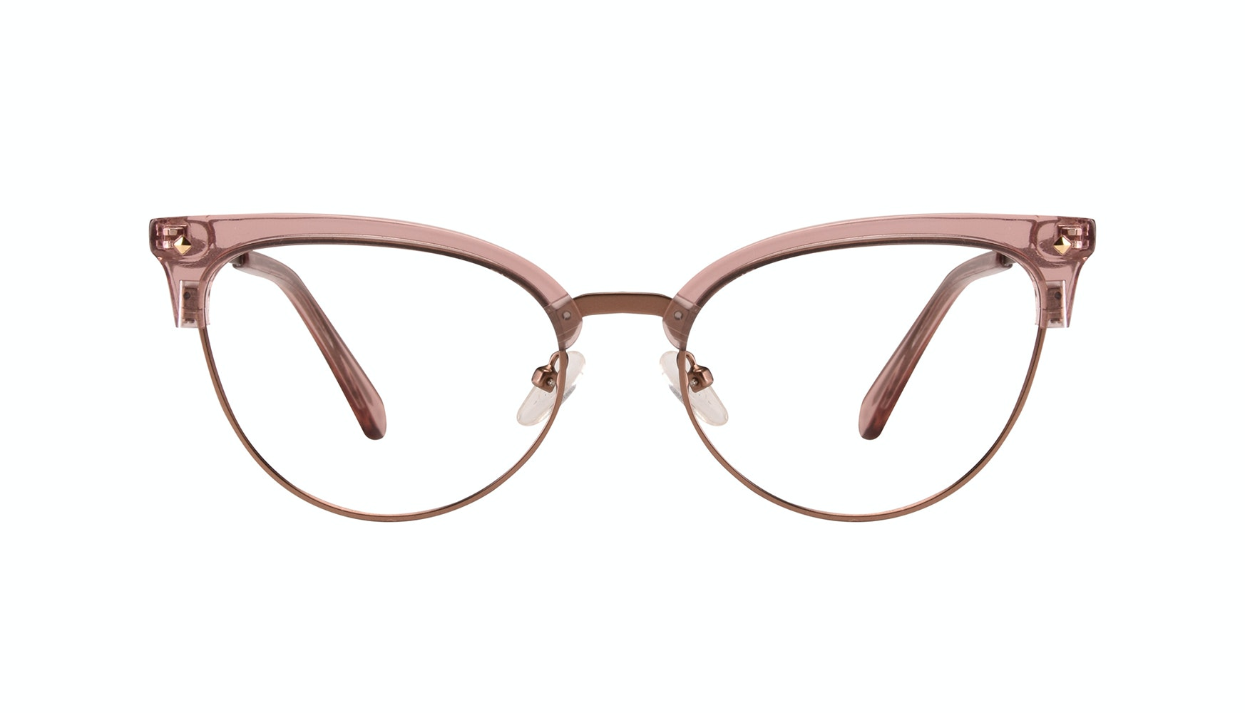 Affordable Fashion Glasses Cat Eye Eyeglasses Women Moon Rose