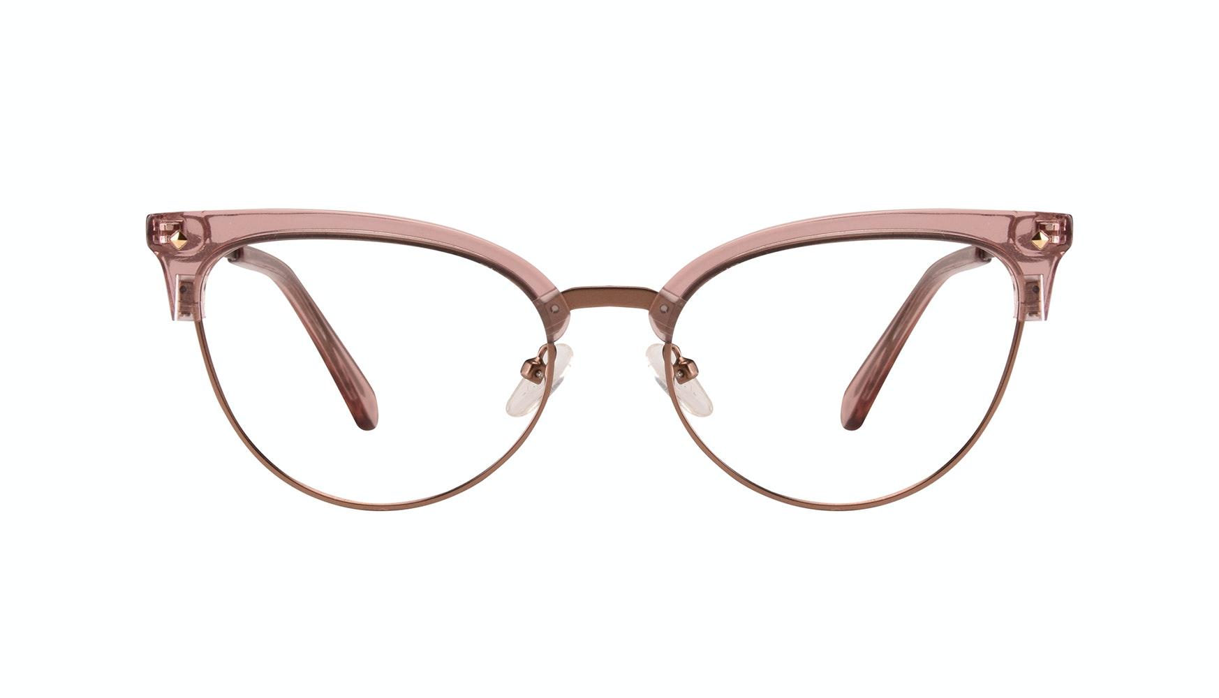 Affordable Fashion Glasses Cat Eye Daring Cateye Eyeglasses Women Moon Rose Front