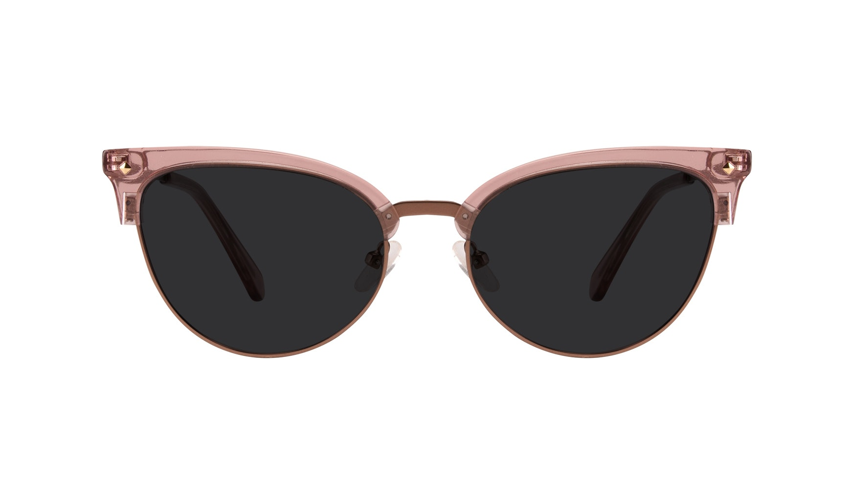 Affordable Fashion Glasses Cat Eye Daring Cateye Sunglasses Women Moon Rose Front