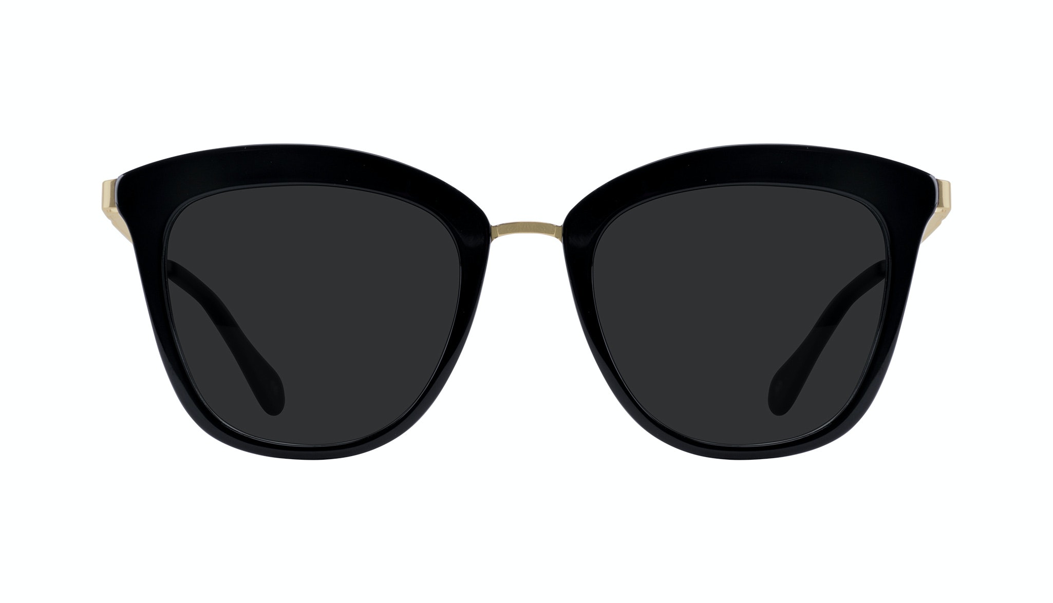 Affordable Fashion Glasses Rectangle Square Sunglasses Women More Onyx Front