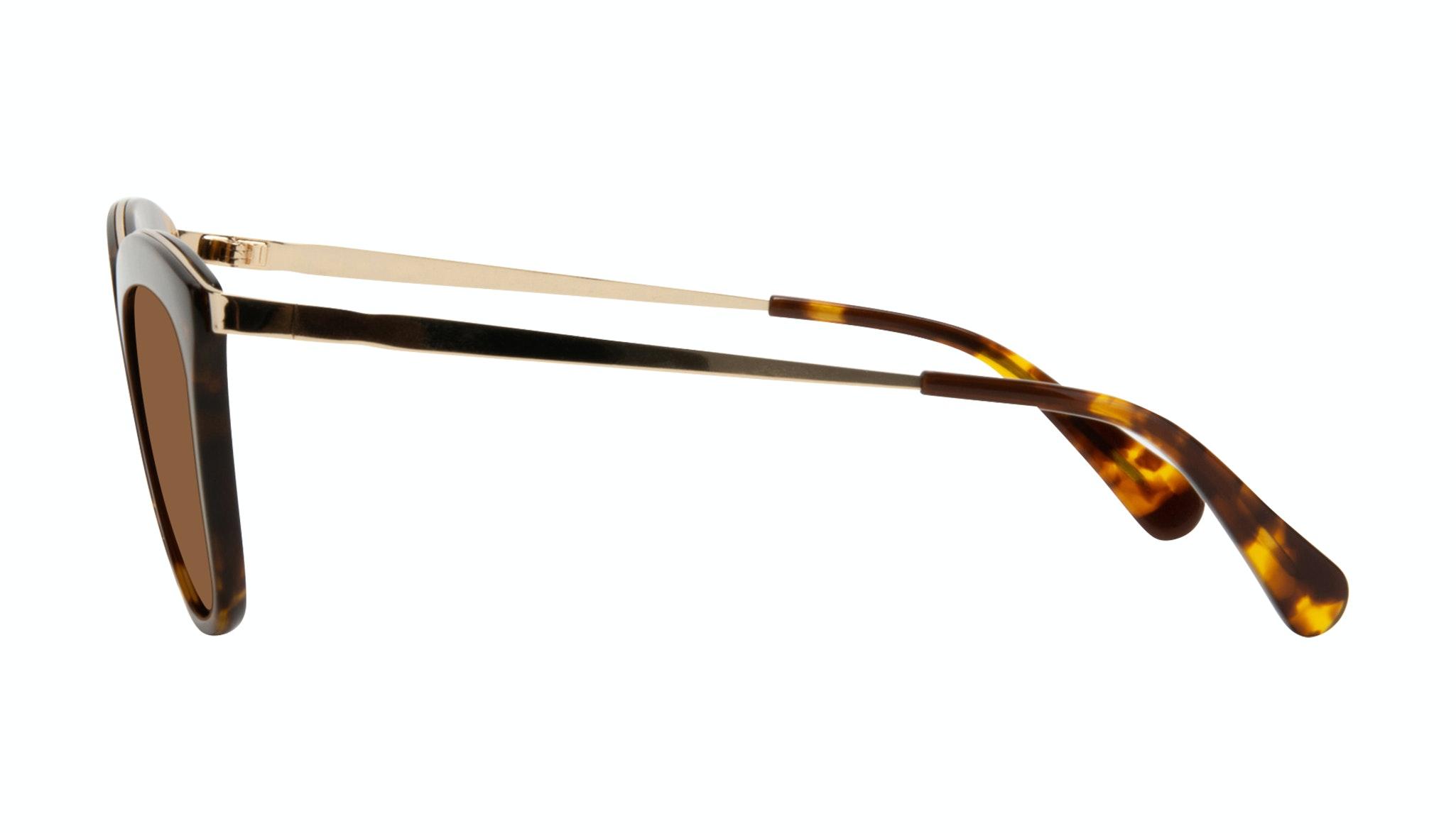 Affordable Fashion Glasses Rectangle Square Sunglasses Women More Tortoise Side