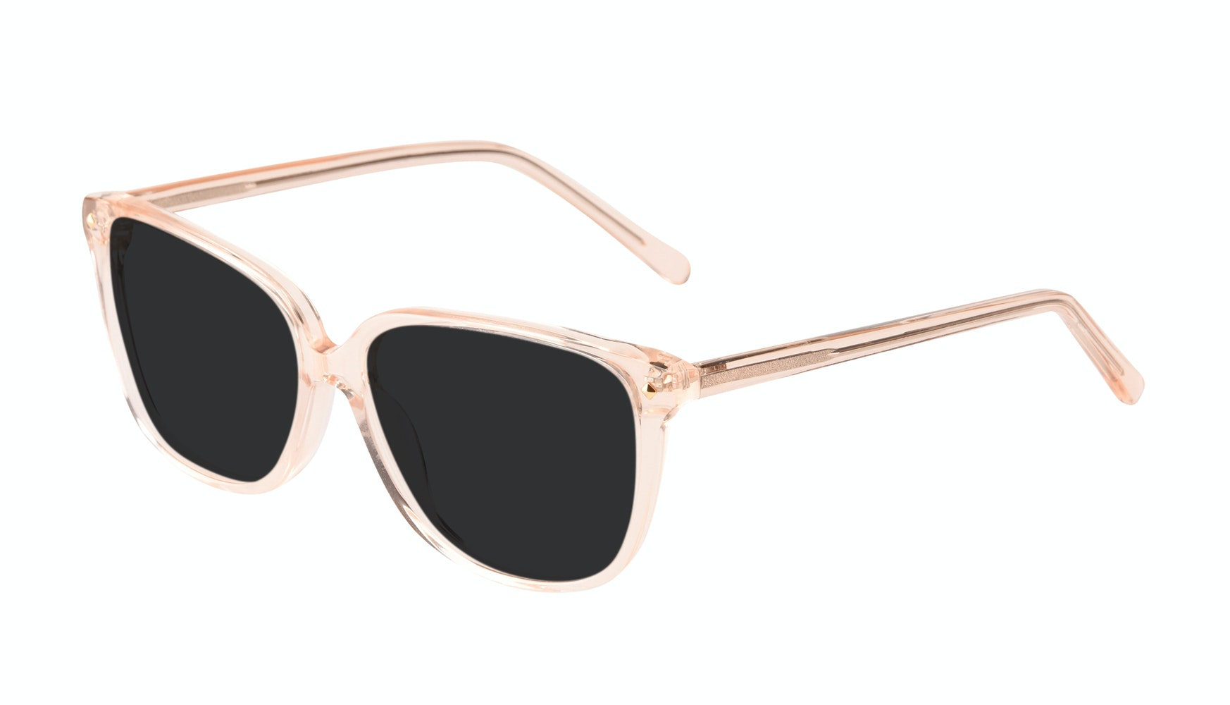 Affordable Fashion Glasses Rectangle Square Sunglasses Women Muse Blond Tilt