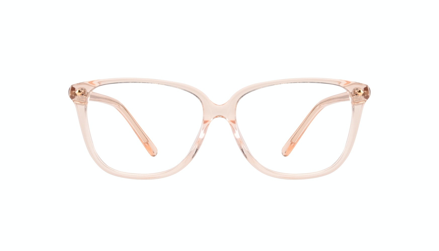 Affordable Fashion Glasses Rectangle Square Eyeglasses Women Muse Blond Front