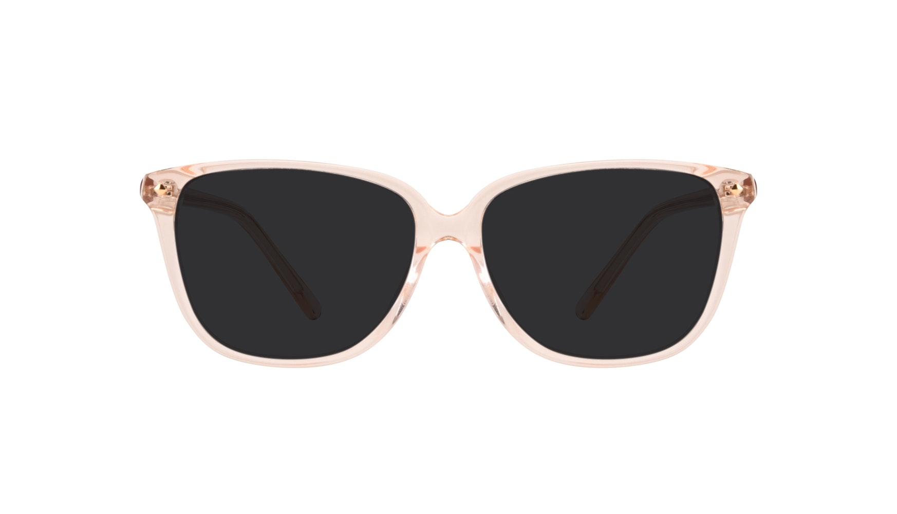 Affordable Fashion Glasses Rectangle Square Sunglasses Women Muse Blond Front