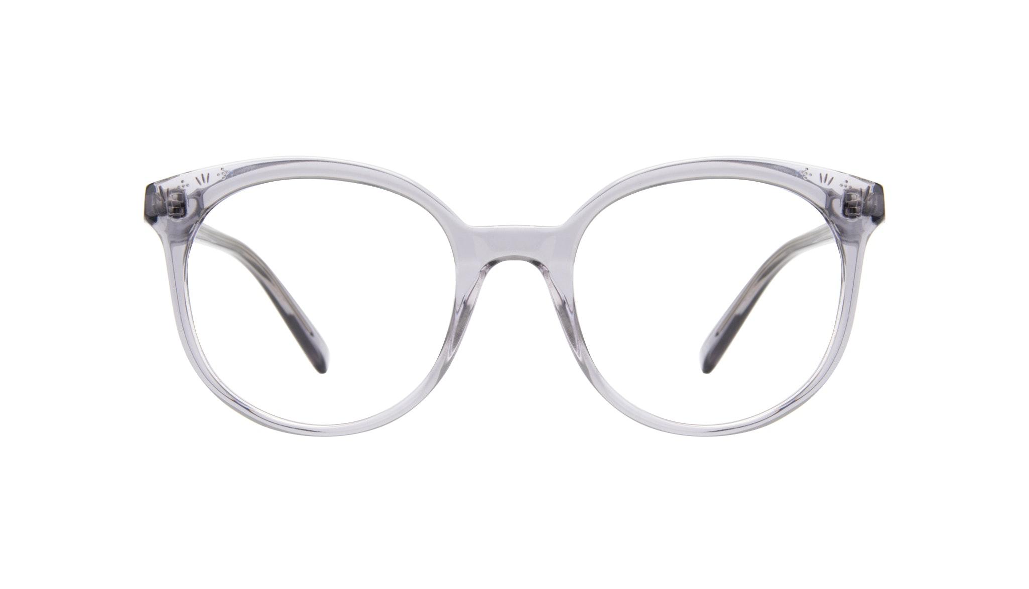 Lunettes tendance Ronde Lunettes de vue Femmes Must Grey