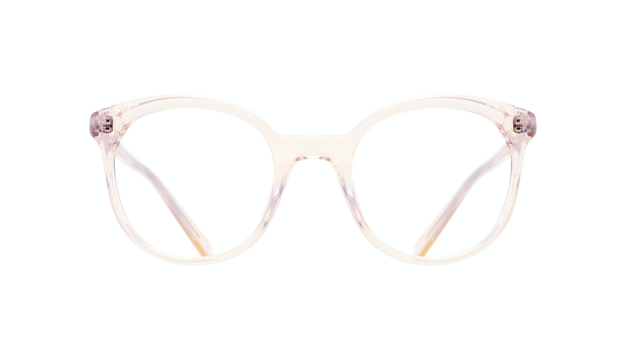 Affordable Fashion Glasses Round Eyeglasses Women Must Blond Front