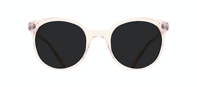Affordable Fashion Glasses Round Sunglasses Women Must Blond Front