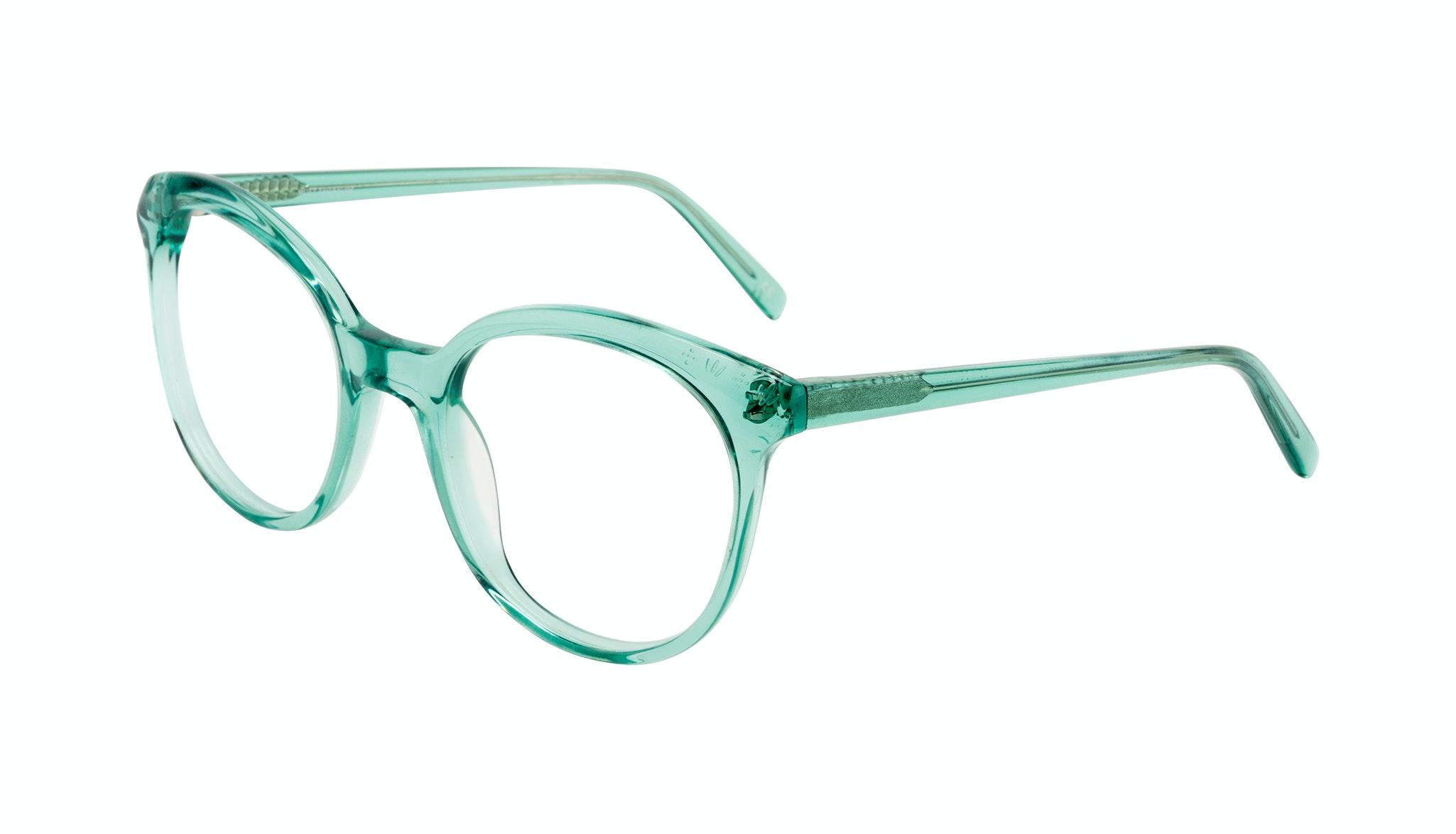 Affordable Fashion Glasses Round Eyeglasses Women Must Emeraude Tilt