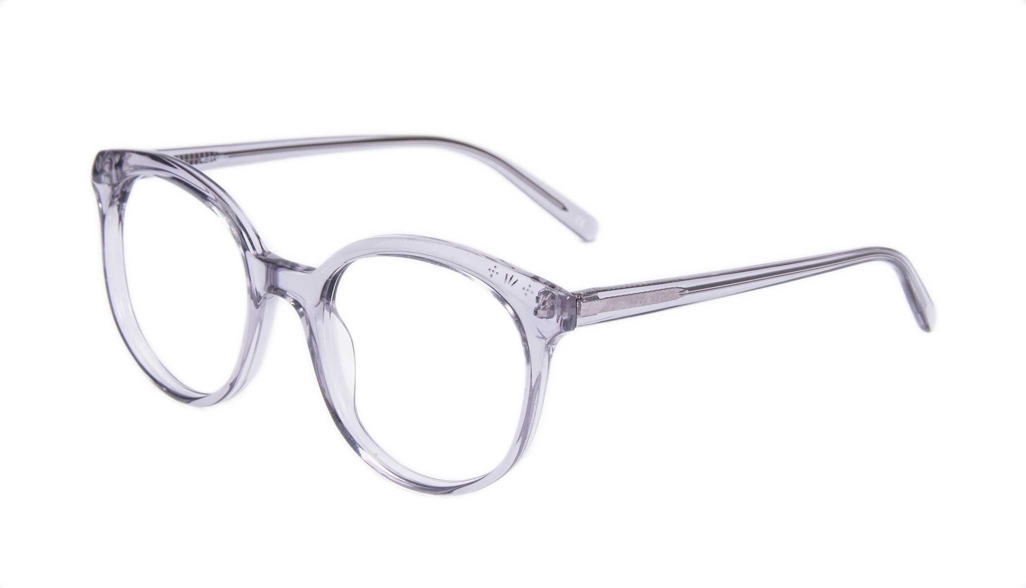 Affordable Fashion Glasses Round Eyeglasses Women Must Grey Tilt