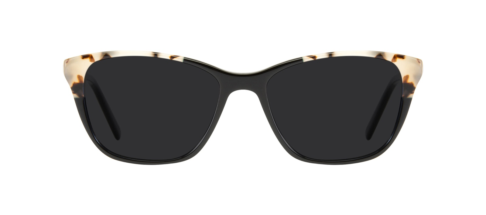 Affordable Fashion Glasses Cat Eye Sunglasses Women Myrtle Petite Ebony Granite Front