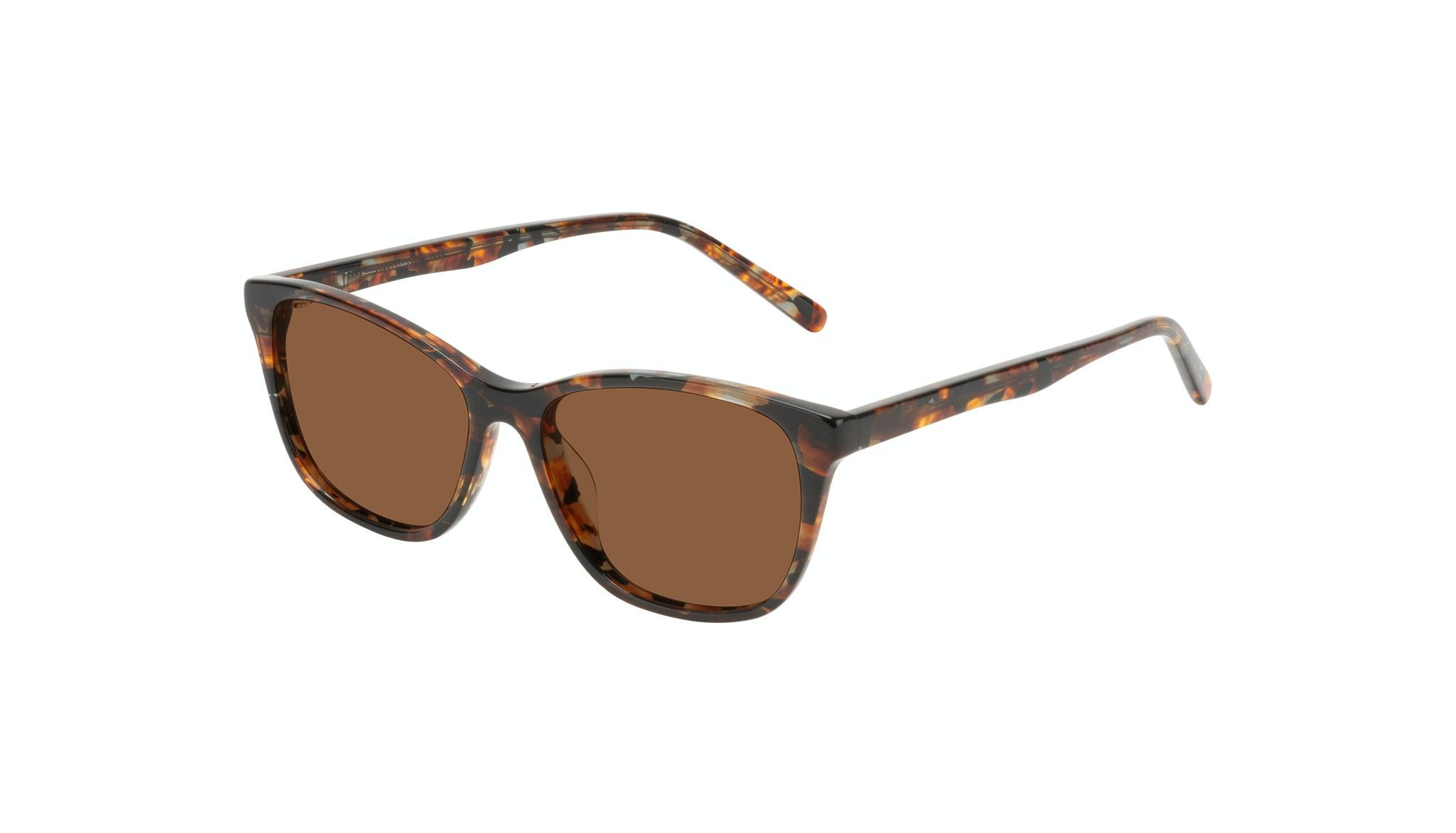 Affordable Fashion Glasses Cat Eye Sunglasses Women Myrtle Petite Mahogany Tilt