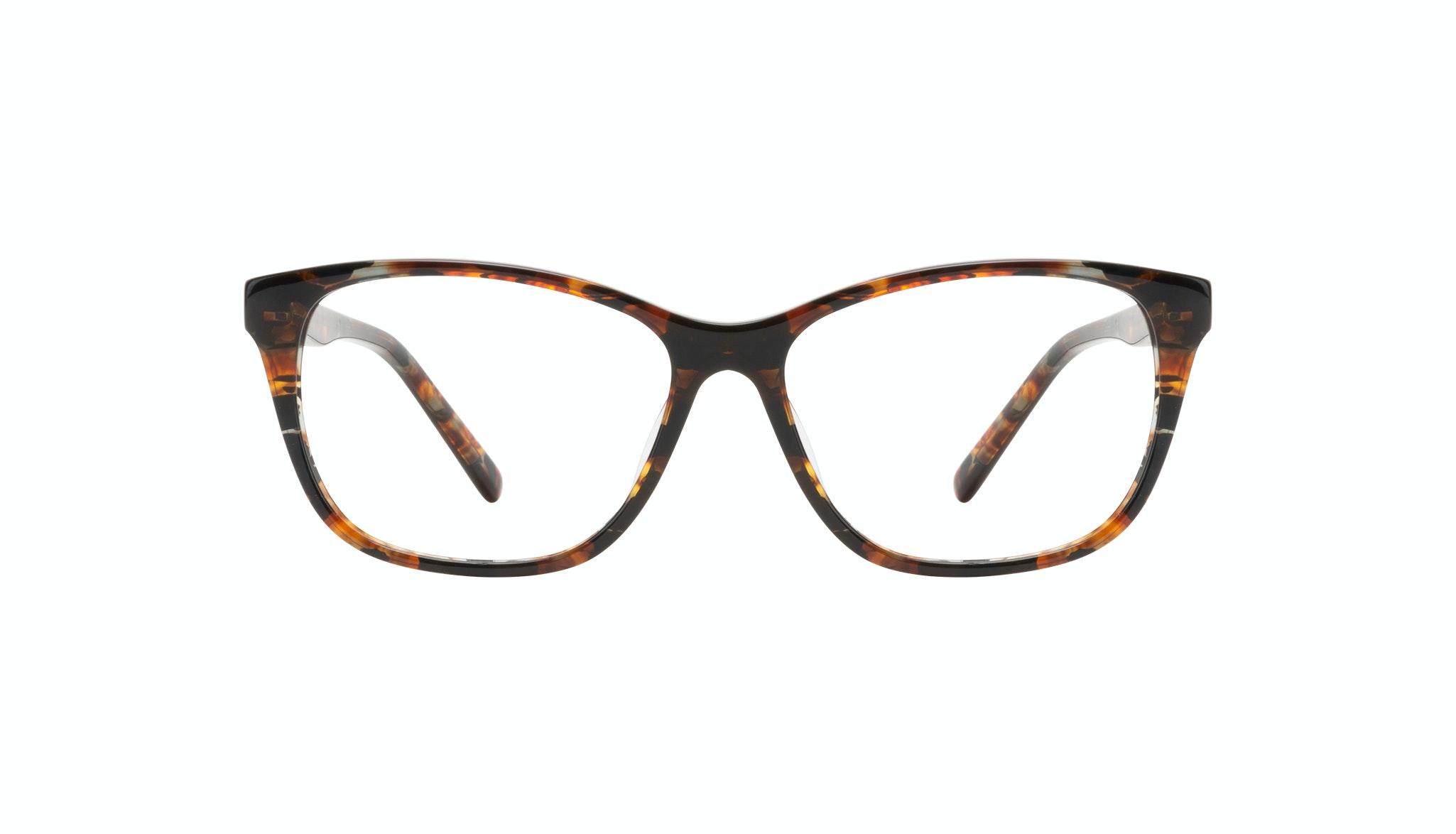 Affordable Fashion Glasses Cat Eye Eyeglasses Women Myrtle Petite Mahogany Front