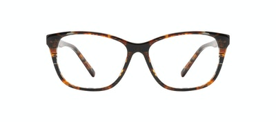 Affordable Fashion Glasses Cat Eye Eyeglasses Women Myrtle Petite Mahogany Front