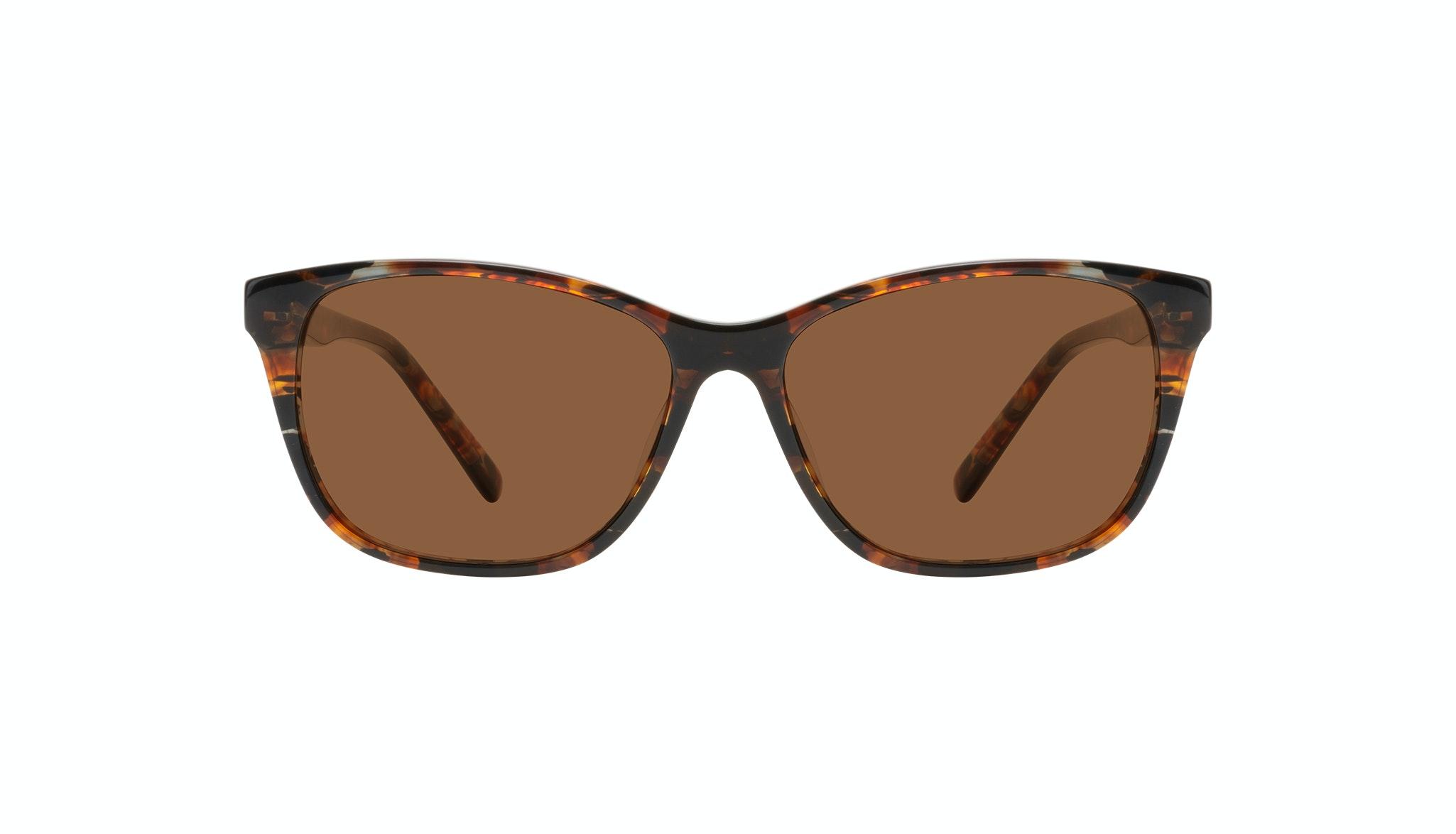 Affordable Fashion Glasses Cat Eye Sunglasses Women Myrtle Petite Mahogany