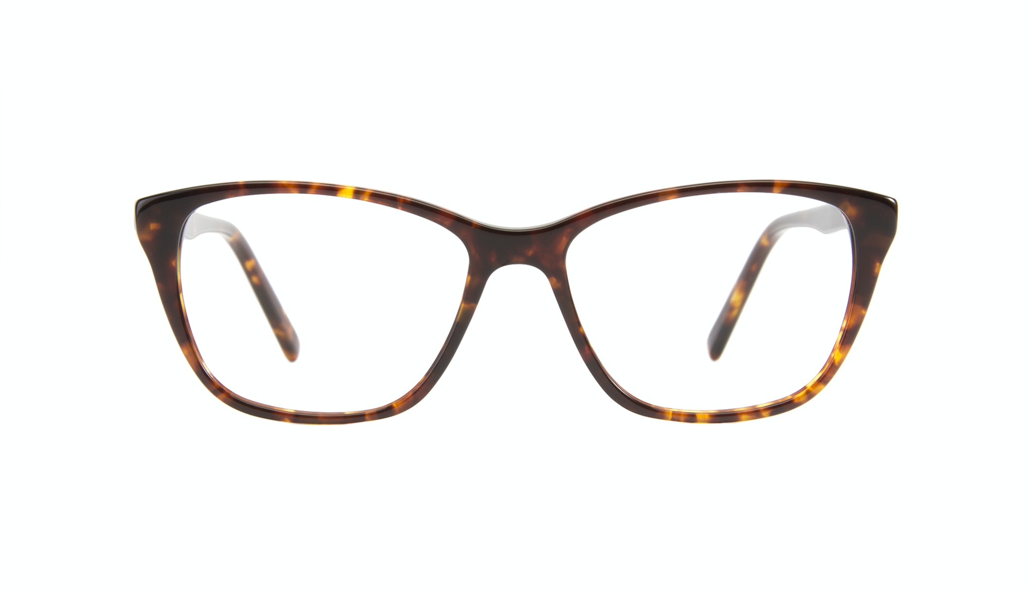 Affordable Fashion Glasses Cat Eye Eyeglasses Women Myrtle Petite Sepia Kiss Front