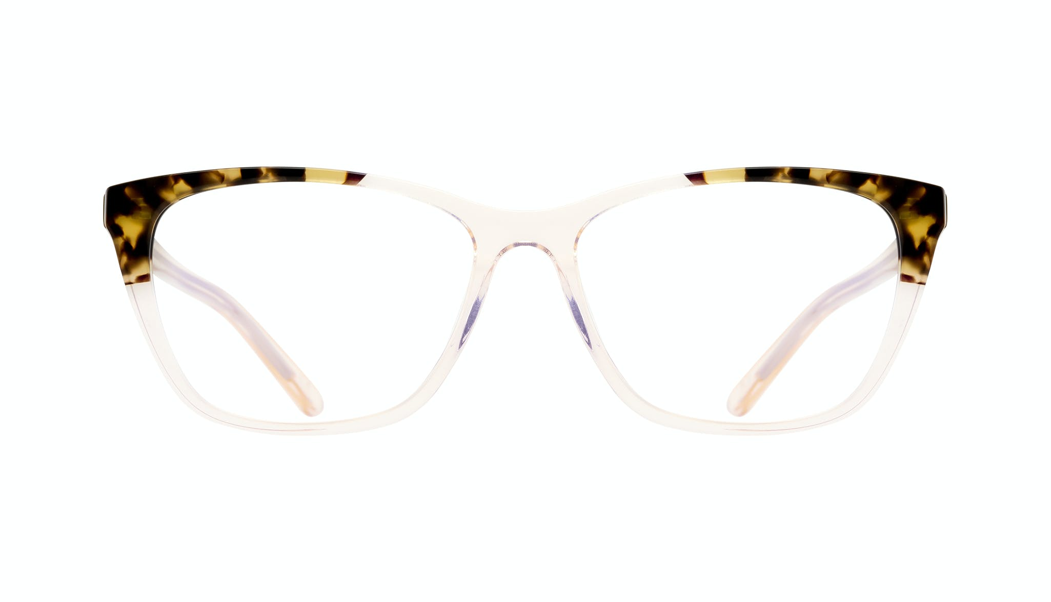 Affordable Fashion Glasses Cat Eye Rectangle Eyeglasses Women Myrtle Blond Tortoise Front