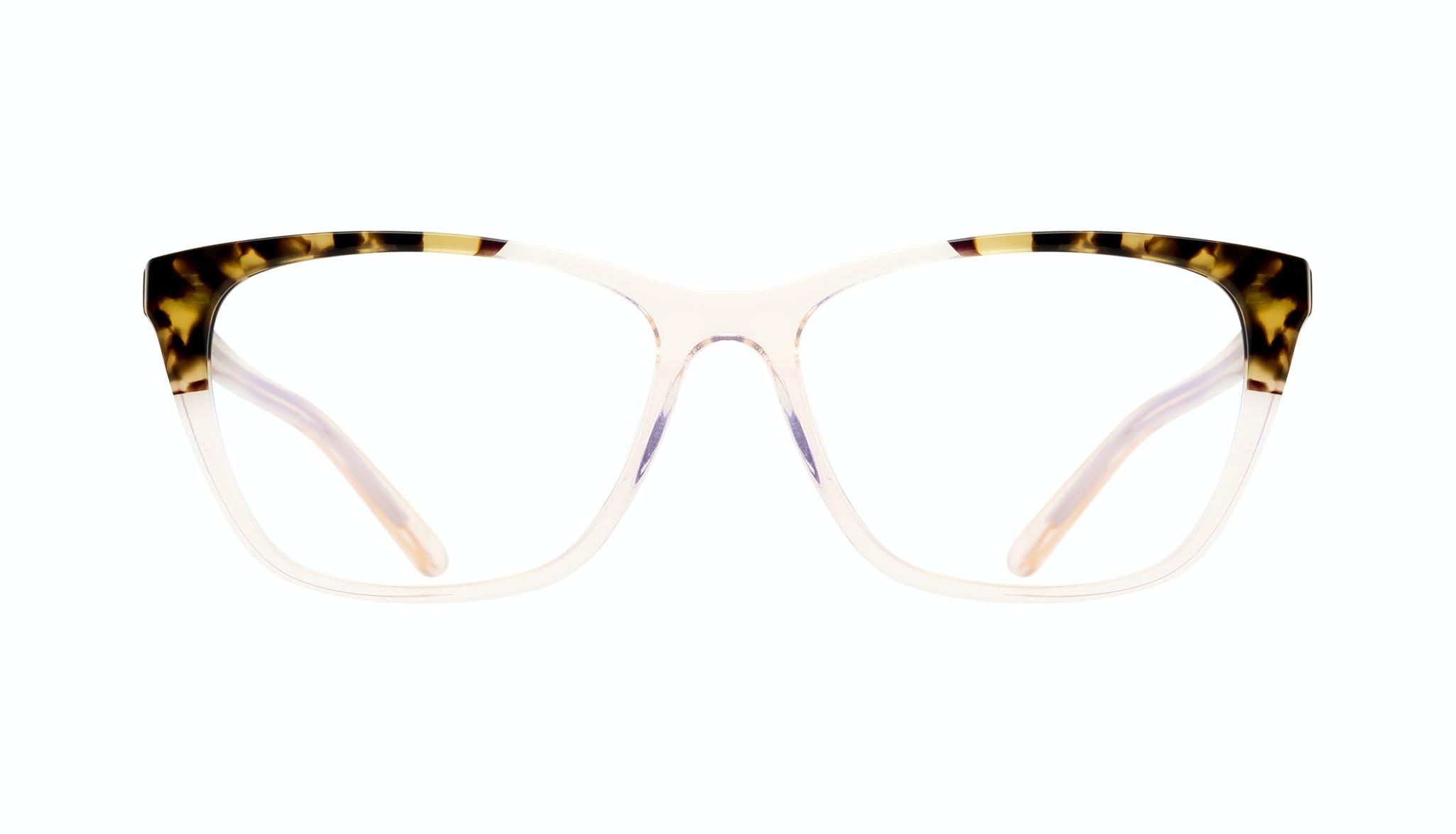 Lunettes tendance Oeil de chat Rectangle Lunettes de vue Femmes Myrtle Blond Tortoise