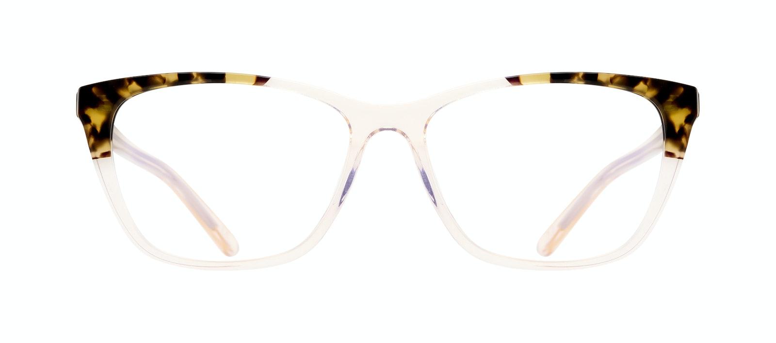 Affordable Fashion Glasses Cat Eye Rectangle Eyeglasses Women Myrtle Blond Tortoise Front
