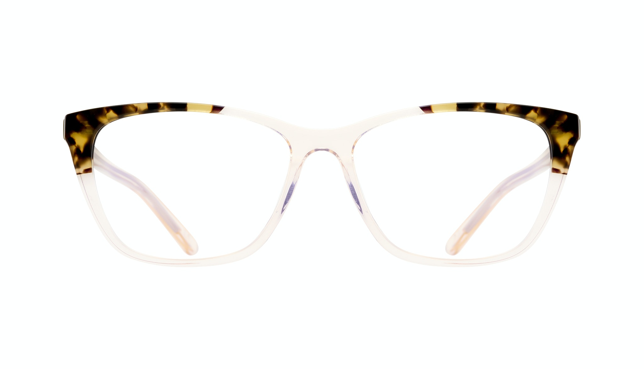 Affordable Fashion Glasses Cat Eye Rectangle Eyeglasses Women Myrtle Blond Tortoise