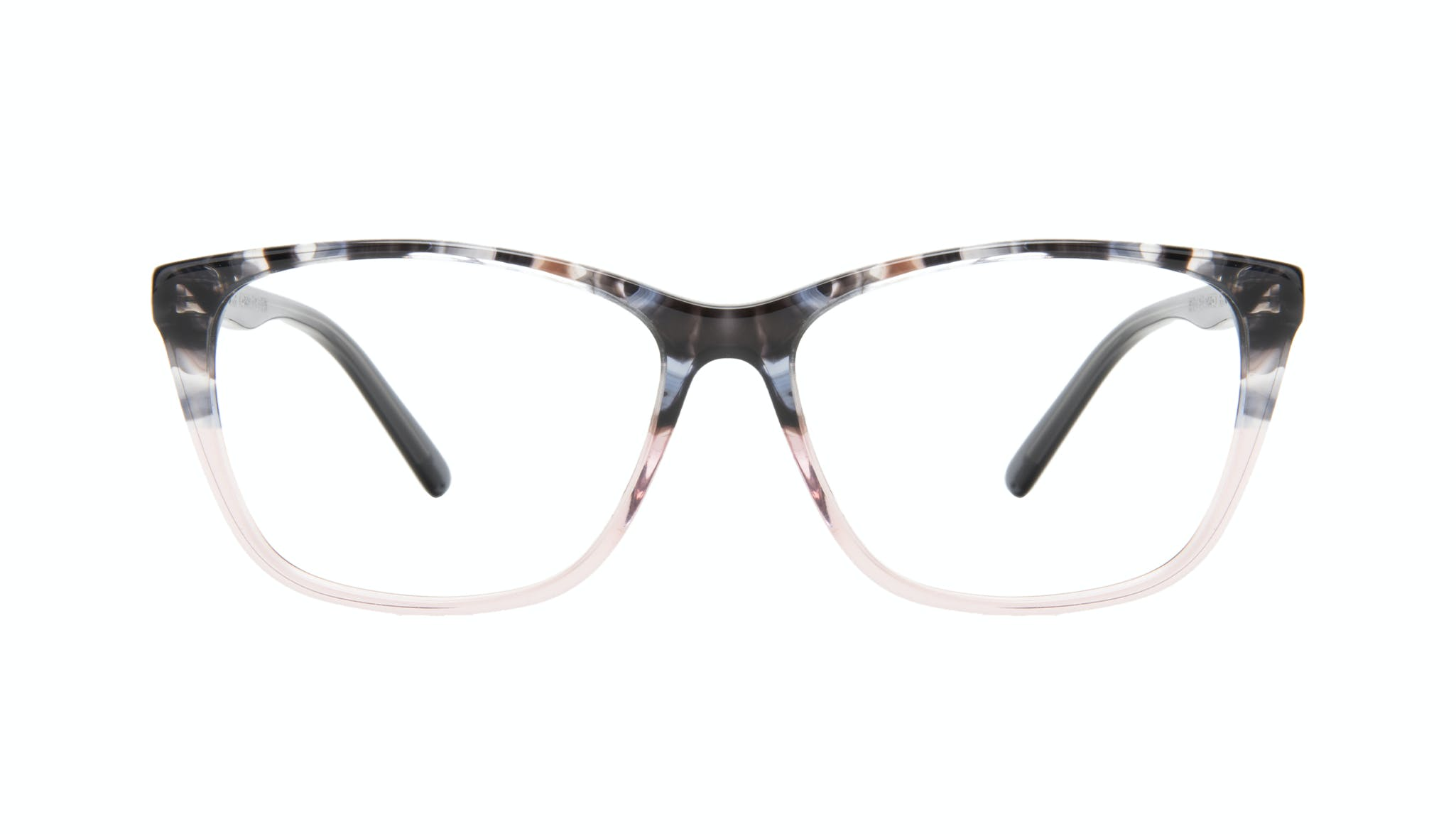 Affordable Fashion Glasses Cat Eye Rectangle Eyeglasses Women Myrtle Carbone Pink Front