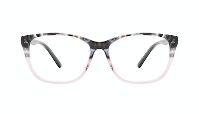 Affordable Fashion Glasses Cat Eye Rectangle Eyeglasses Women Myrtle Carbone Pink Front