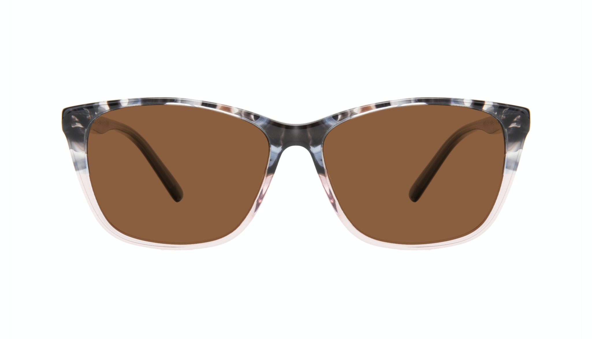Affordable Fashion Glasses Cat Eye Rectangle Sunglasses Women Myrtle Carbone Pink