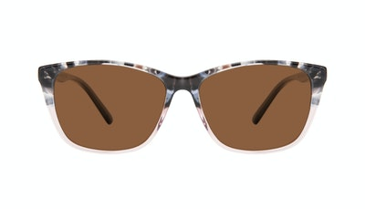 Affordable Fashion Glasses Cat Eye Rectangle Sunglasses Women Myrtle Carbone Pink Front