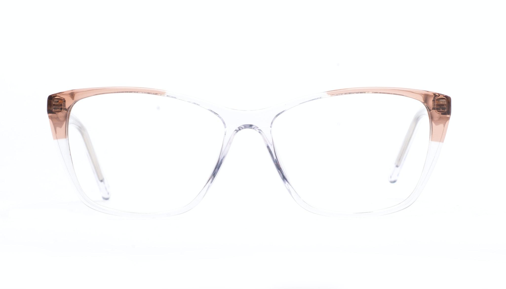 Affordable Fashion Glasses Cat Eye Rectangle Eyeglasses Women Myrtle Diamond Rose Front