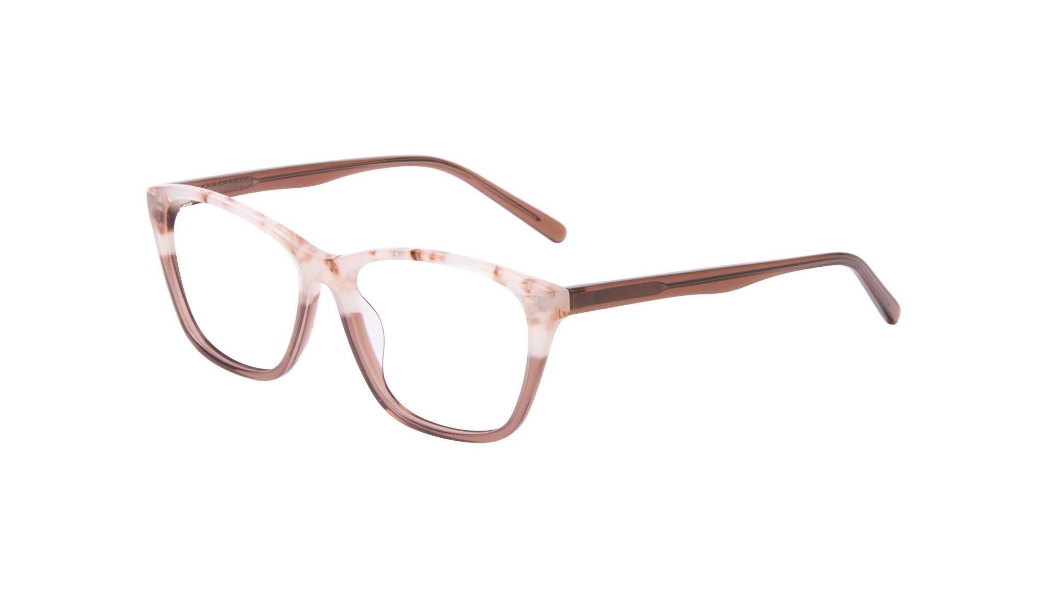 Affordable Fashion Glasses Cat Eye Rectangle Eyeglasses Women Myrtle Frosted Sand Tilt