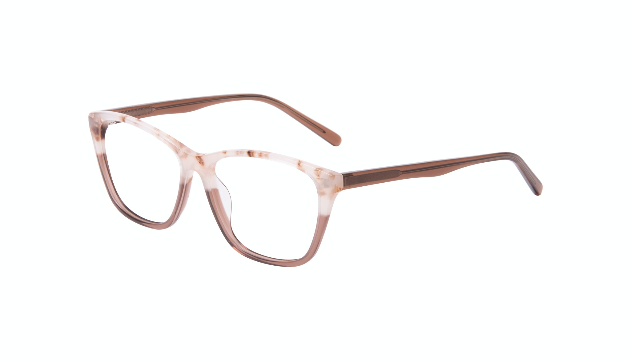 Affordable Fashion Glasses Cat Eye Rectangle Eyeglasses Women Myrtle Frosted Sand Incliné
