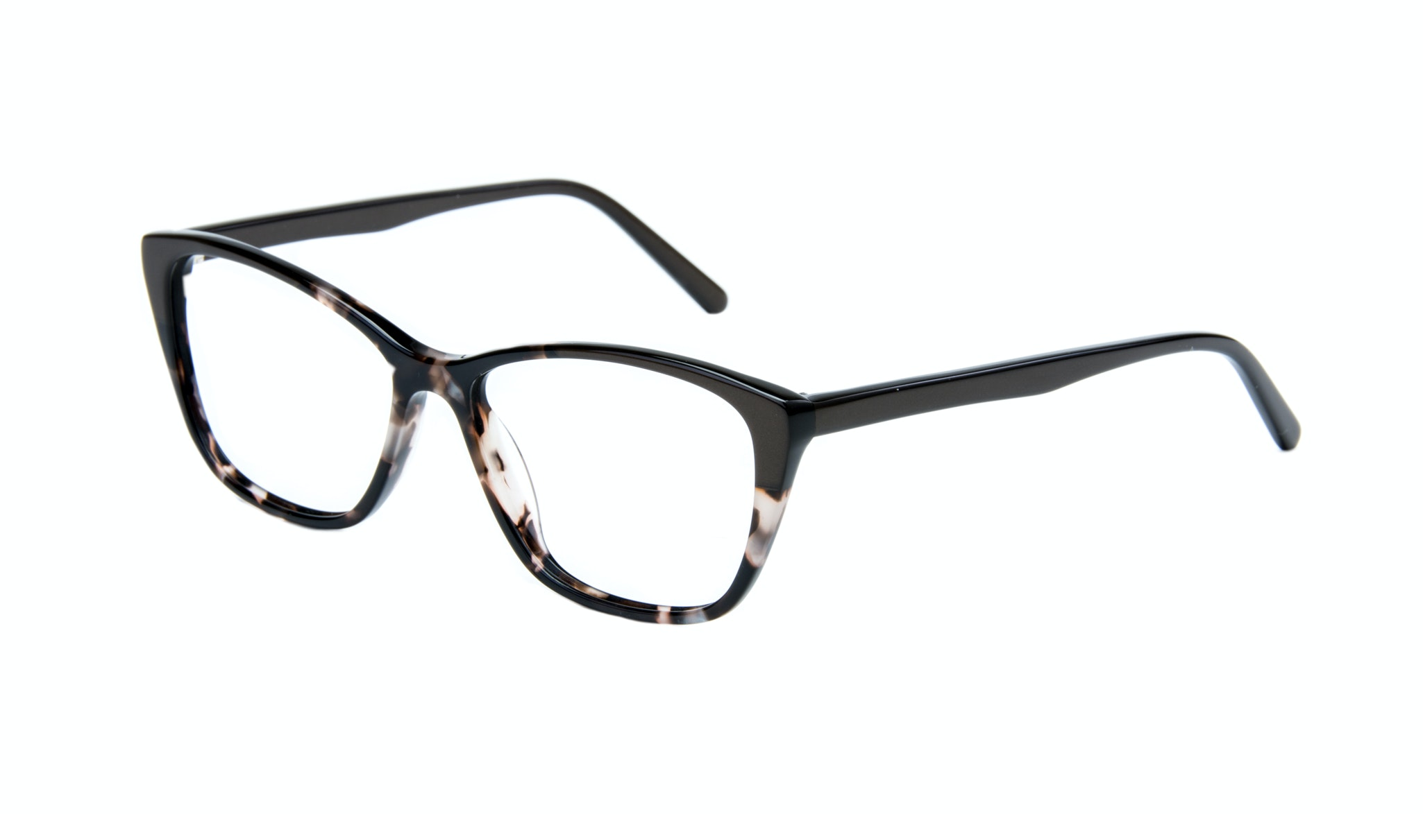 Affordable Fashion Glasses Cat Eye Rectangle Eyeglasses Women Myrtle Grey Stone Tilt