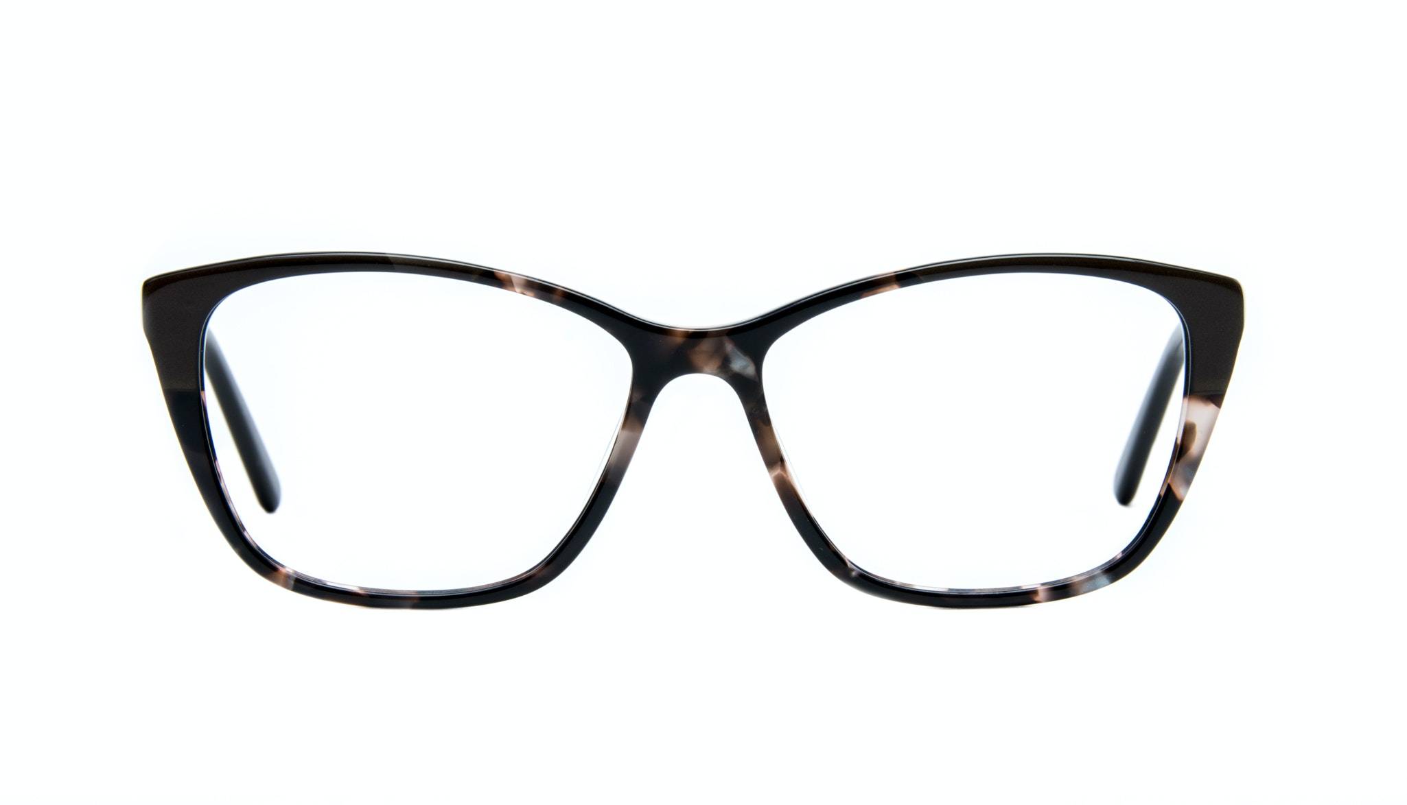Affordable Fashion Glasses Cat Eye Rectangle Eyeglasses Women Myrtle Grey Stone Front