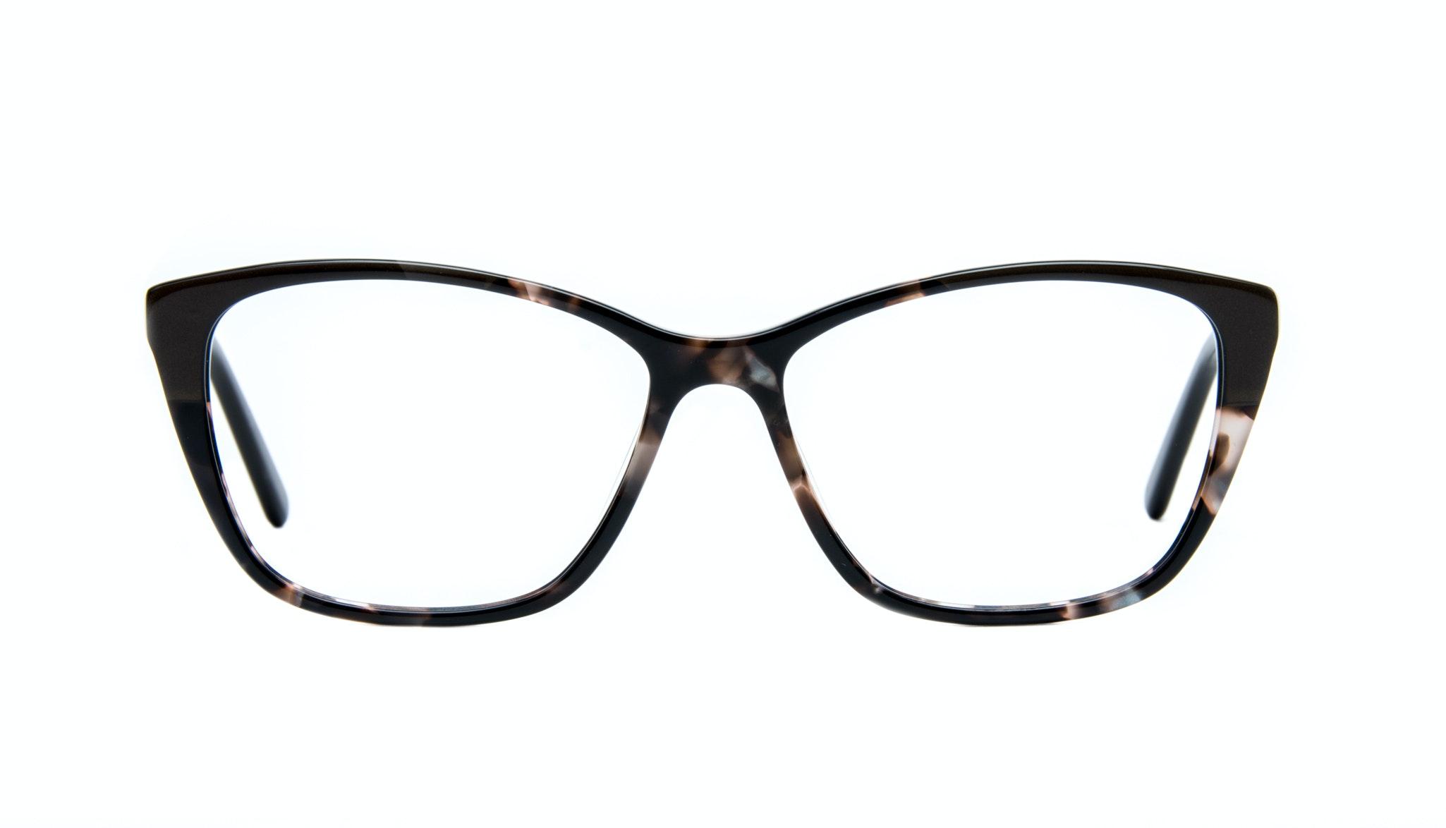 Affordable Fashion Glasses Cat Eye Rectangle Eyeglasses Women Myrtle Grey Stone Front