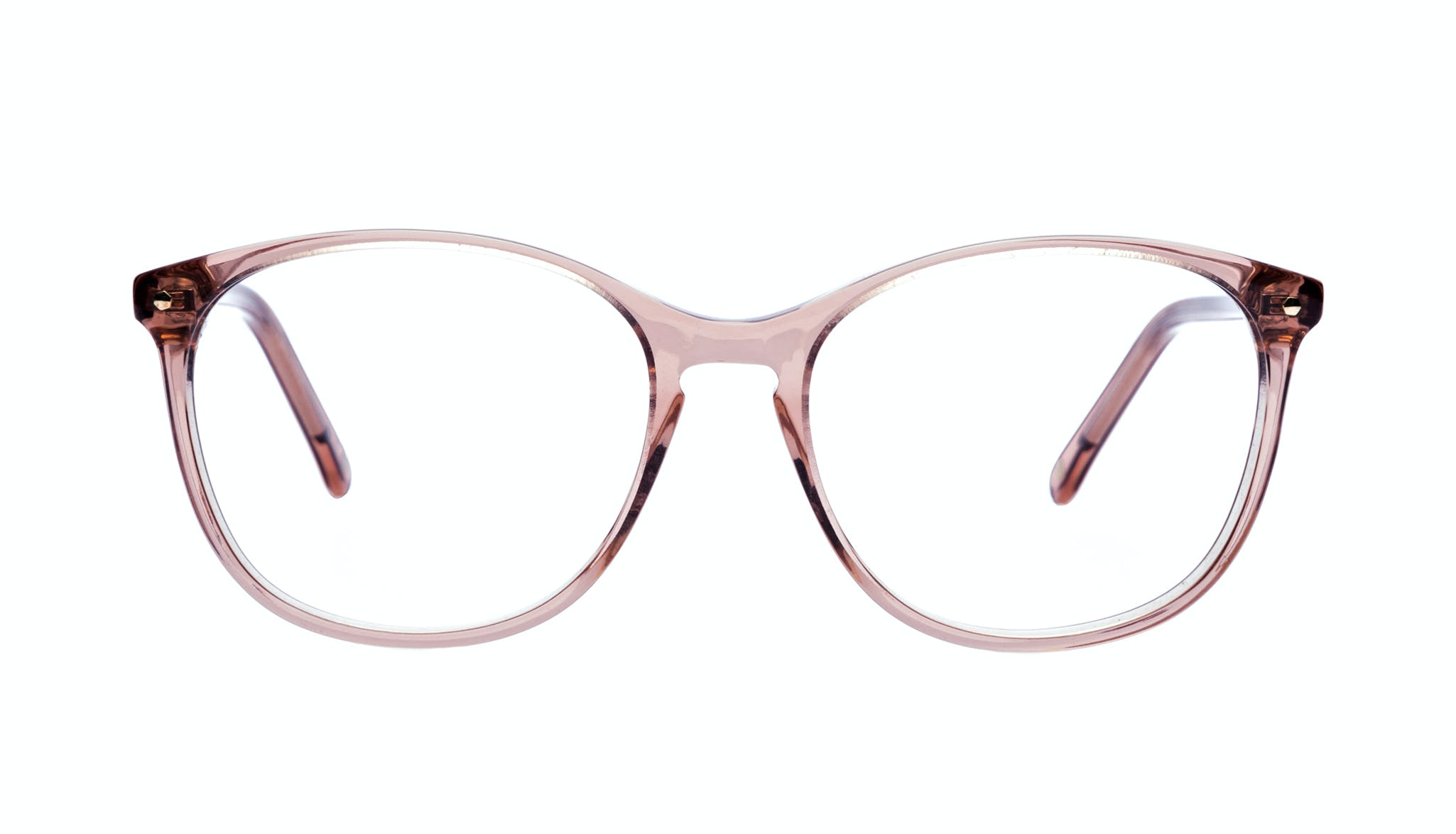 Affordable Fashion Glasses Rectangle Square Round Eyeglasses Women Nadine Rose